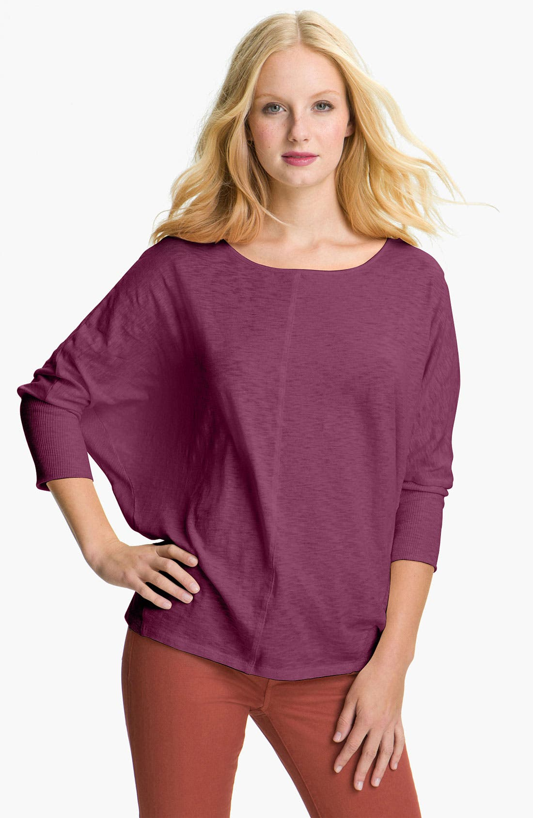 Alternate Image 1 Selected - Two by Vince Camuto Dolman Sleeve Top