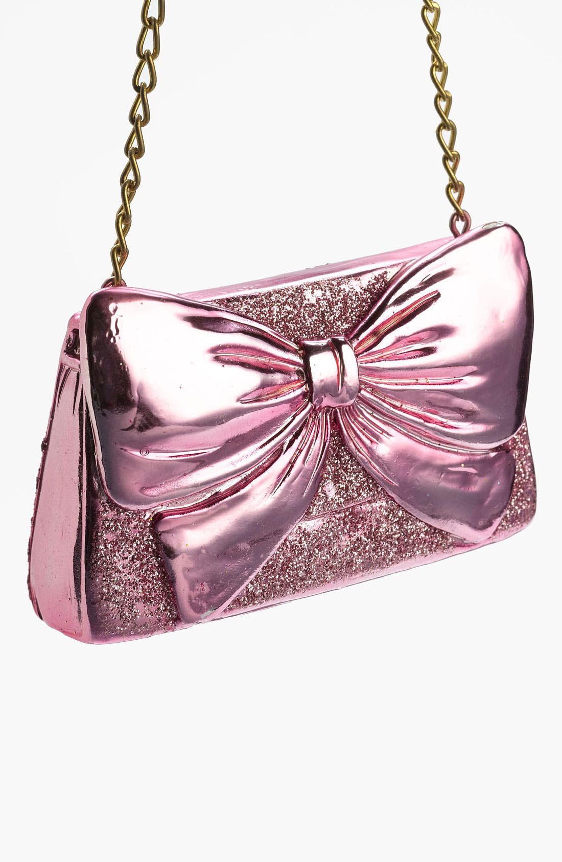 Main Image - Nordstrom at Home 'Glitter Bow Clutch' Ornament