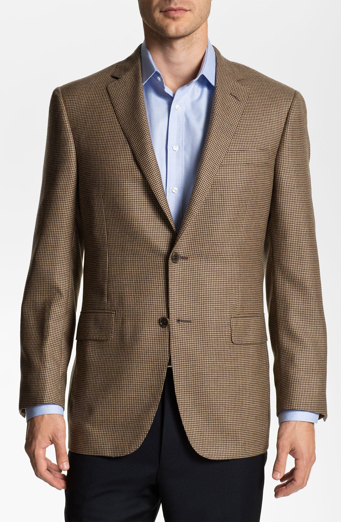 Main Image - Samuelsohn Cashmere Houndstooth Sportcoat