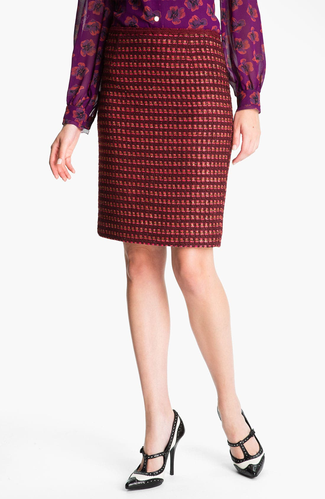 Alternate Image 1 Selected - Tory Burch 'Victory' Pencil Skirt