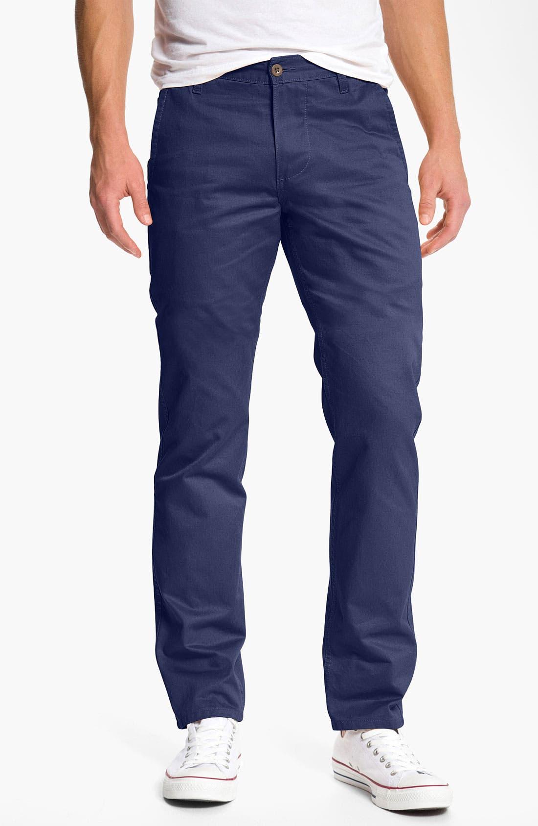 Alternate Image 1 Selected - Dockers® 'Alpha Khaki' Slim Straight Leg Chinos