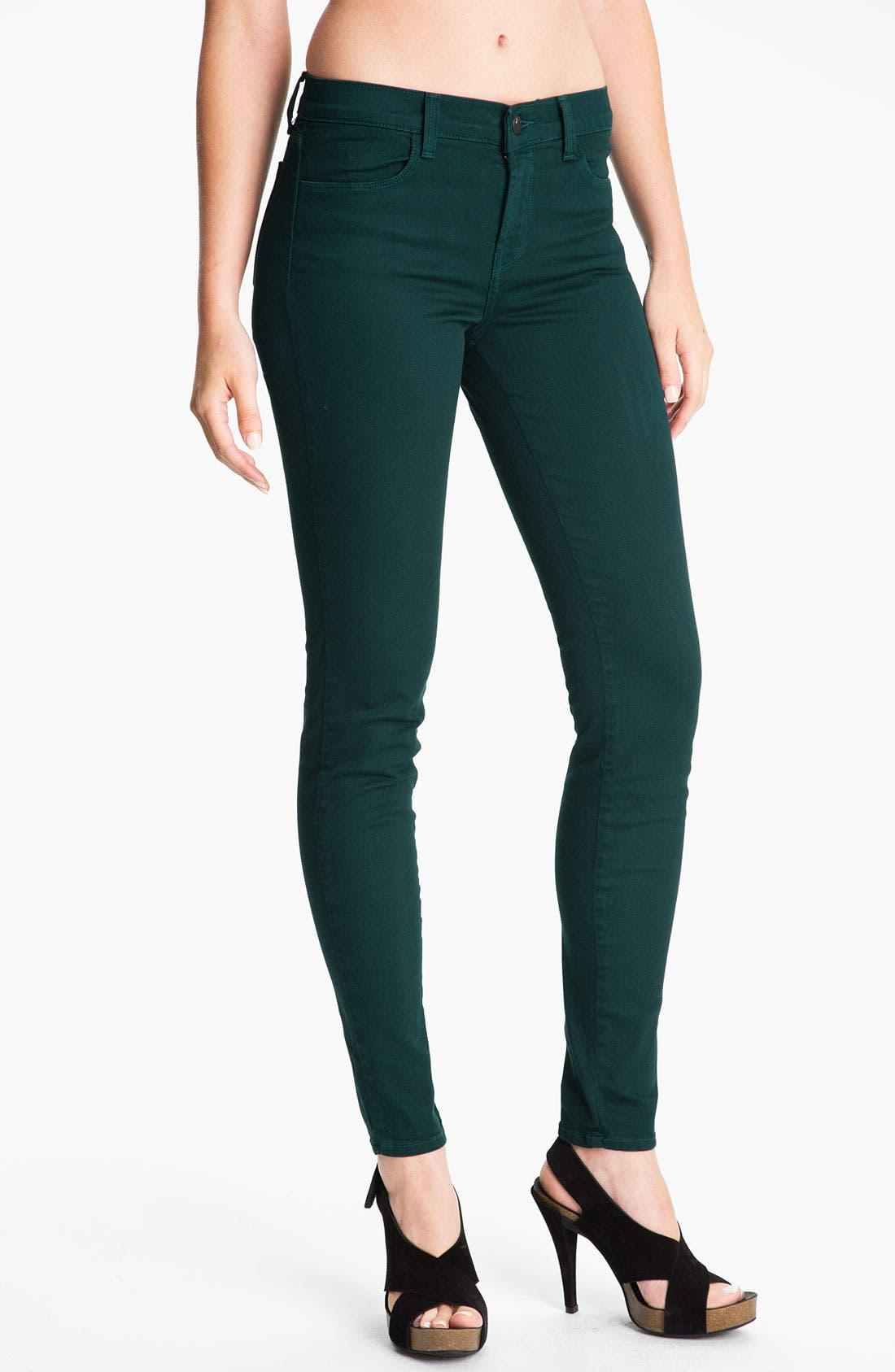 Alternate Image 1 Selected - J Brand Skinny Stretch Jeans