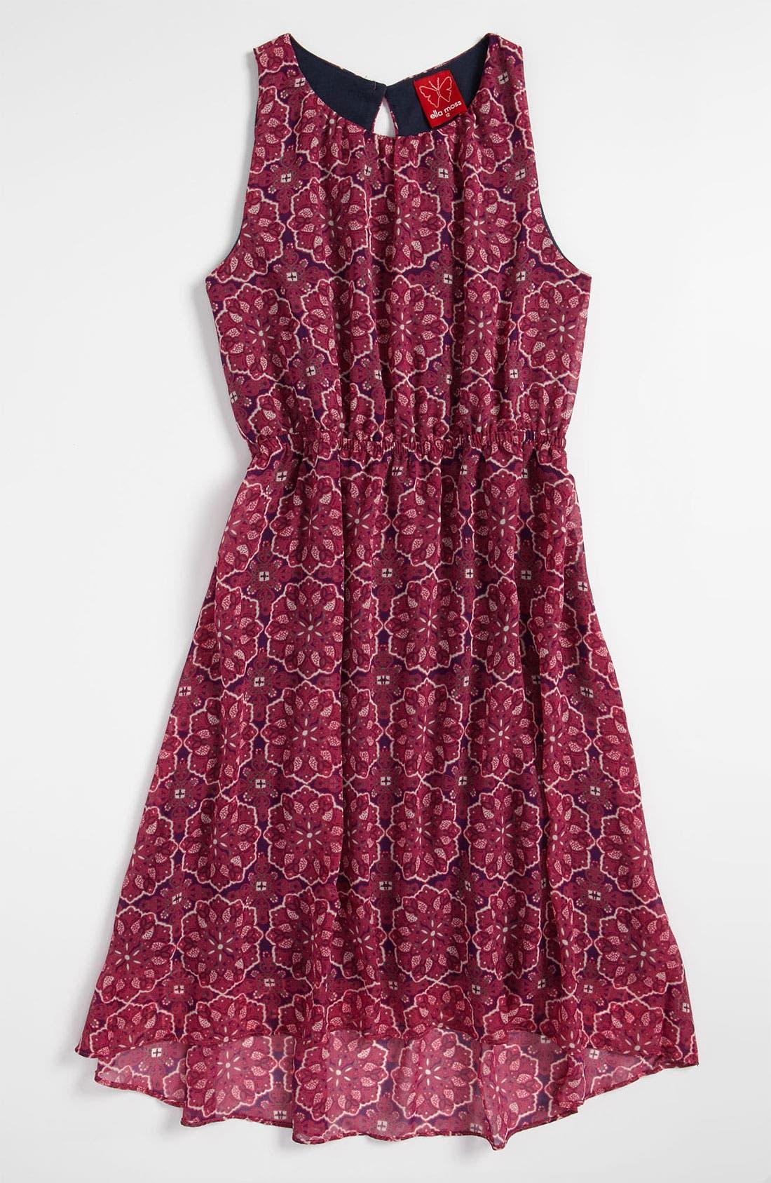 Alternate Image 1 Selected - Ella Moss 'Gueneviere' Tank Dress (Big Girls)