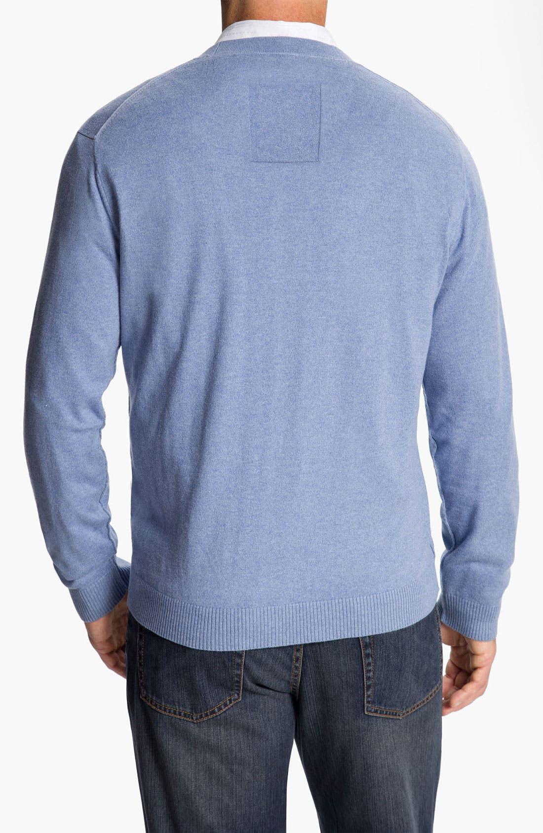 Alternate Image 2  - Tommy Bahama 'Weekend Drifter' Cotton & Cashmere Cardigan