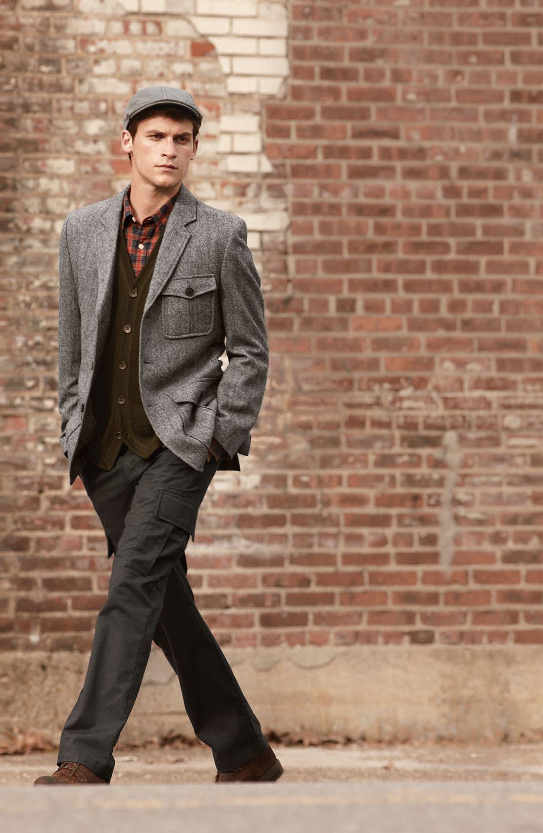 Main Image - Wallin & Bros. Sportcoat, Vest & Cargo Pants