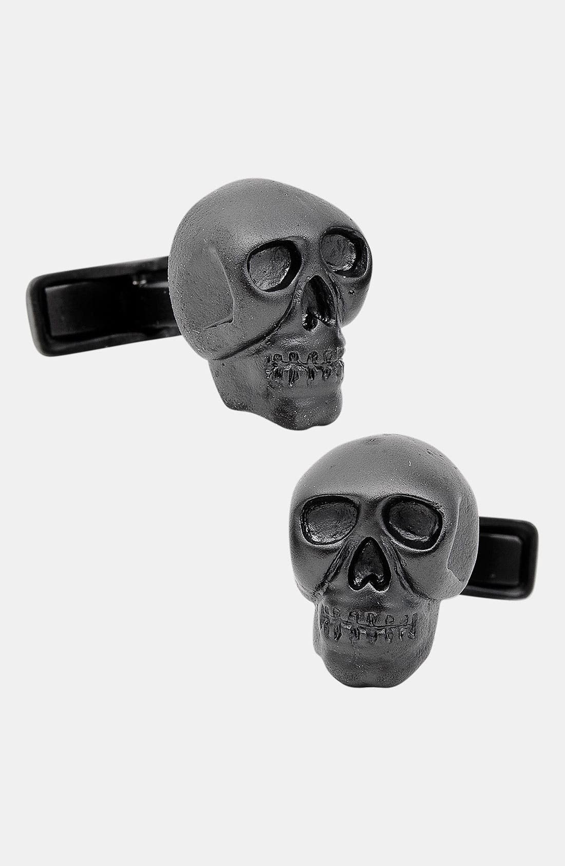 Alternate Image 1 Selected - Ox and Bull Trading Co. 'Iron Skull' Cuff Links