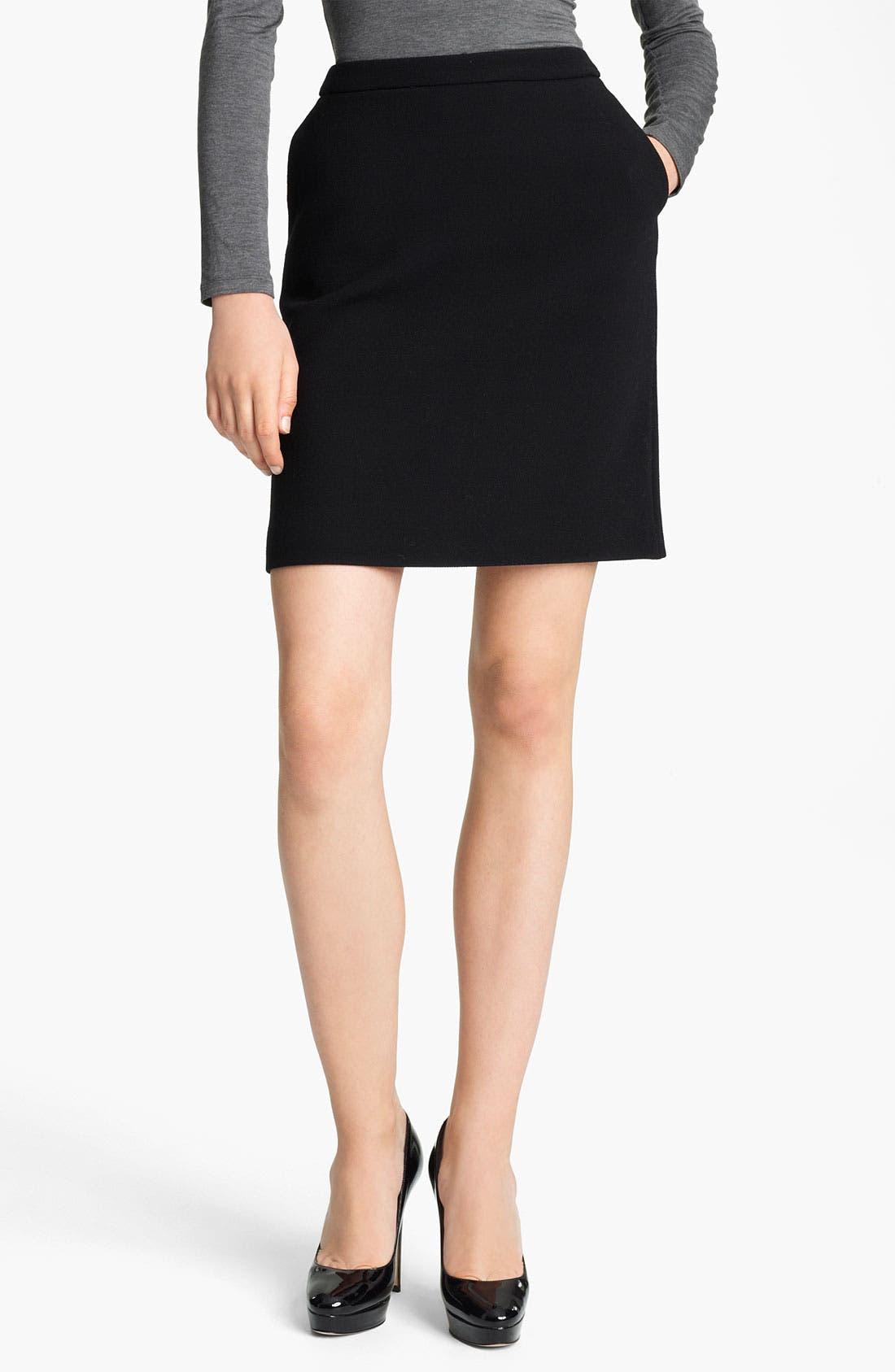 Alternate Image 1 Selected - Max Mara 'Sagoma' Wool Skirt