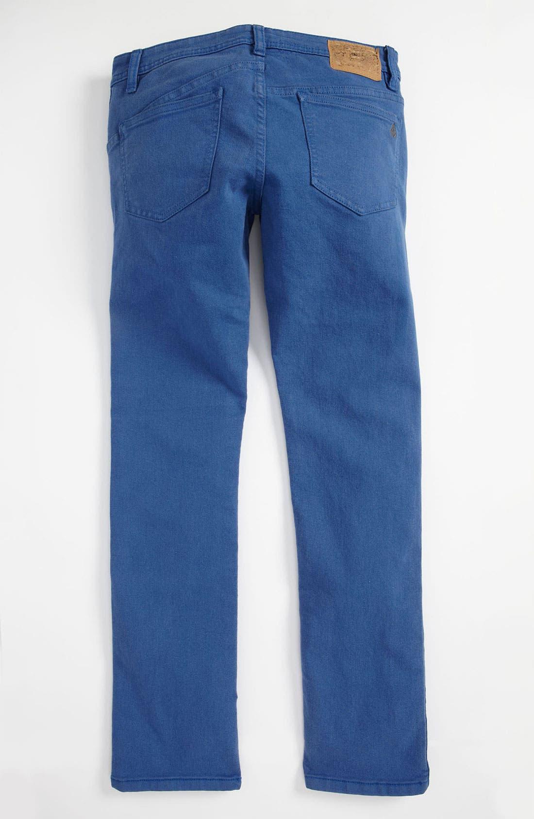 Main Image - Volcom '2 x 4' Skinny Jeans (Little Boys)