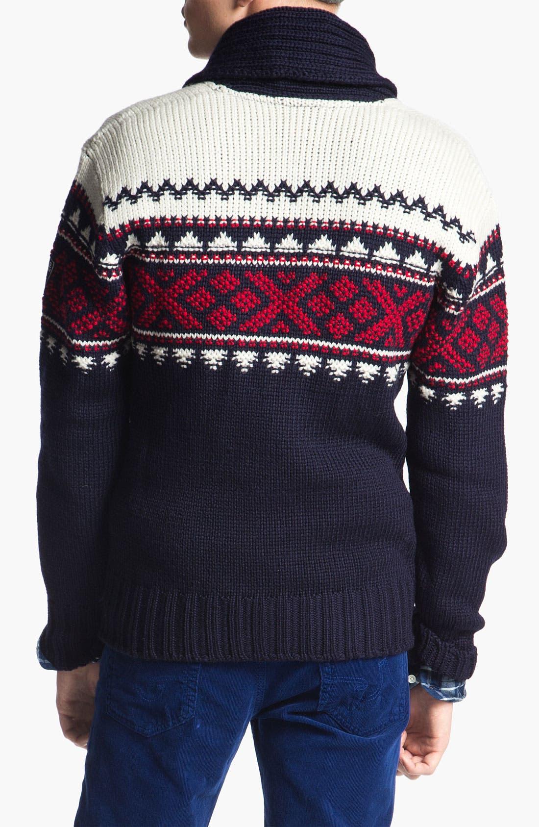 Alternate Image 2  - Dale of Norway 'Valle' Shawl Collar Wool Cardigan