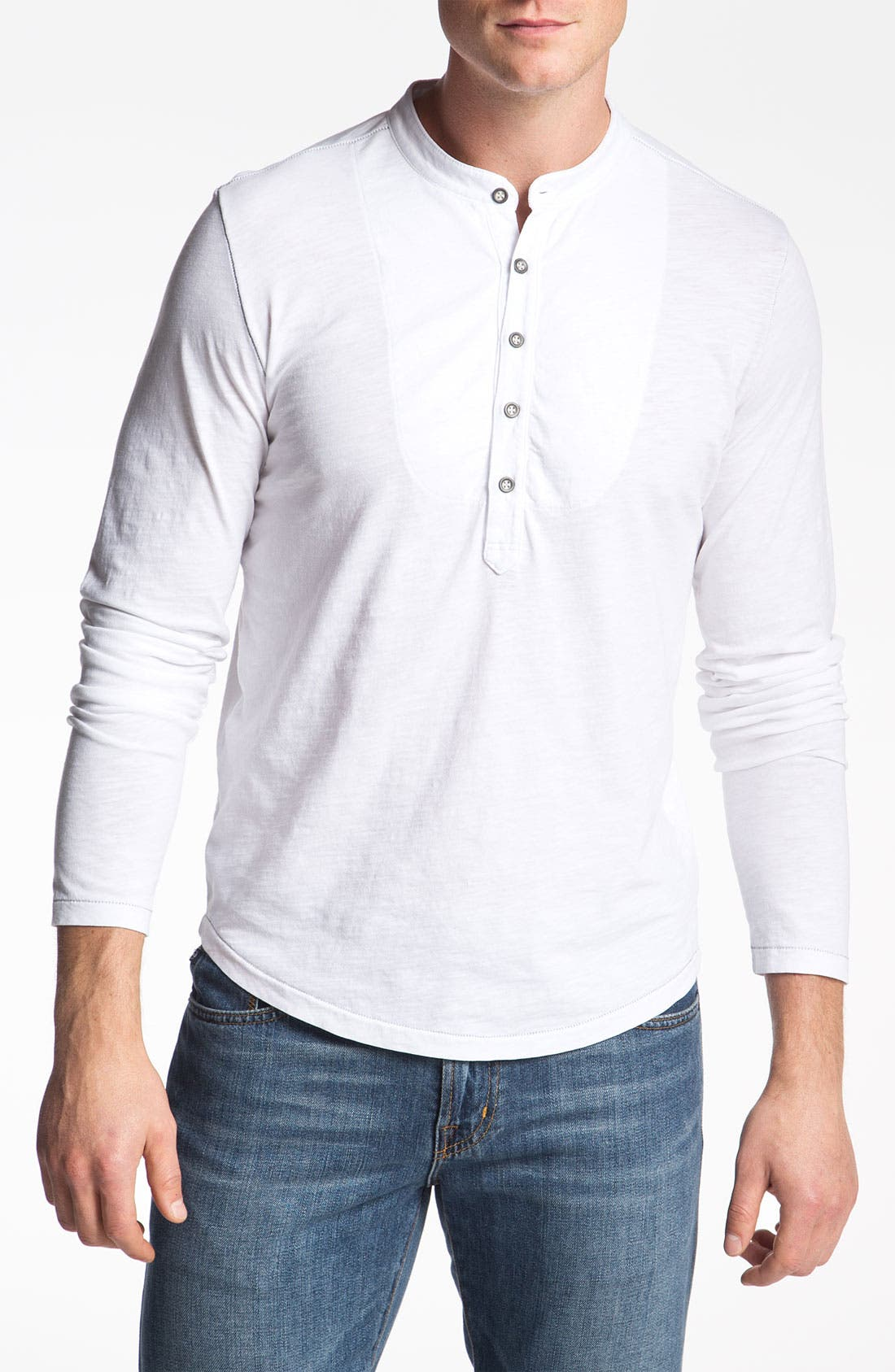 Alternate Image 1 Selected - AG Jeans Long Sleeve Henley
