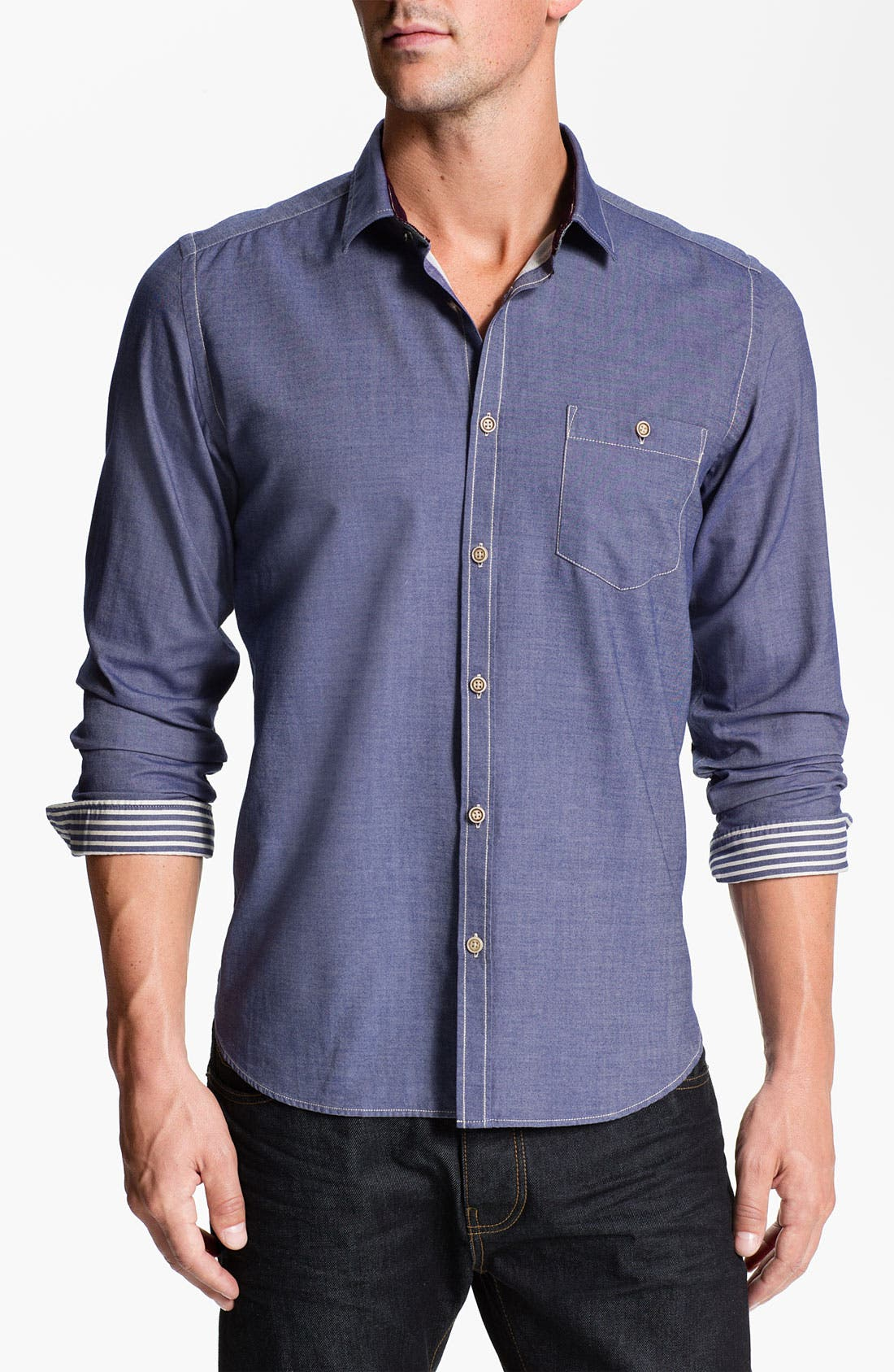 Alternate Image 1 Selected - Ted Baker London 'Questo' Sport Shirt