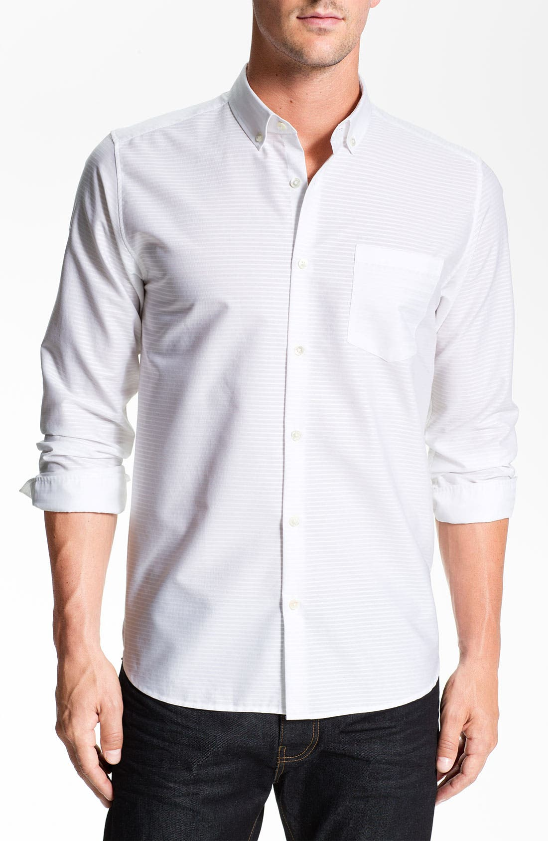Alternate Image 1 Selected - Ted Baker London 'Whipit' Woven Sport Shirt