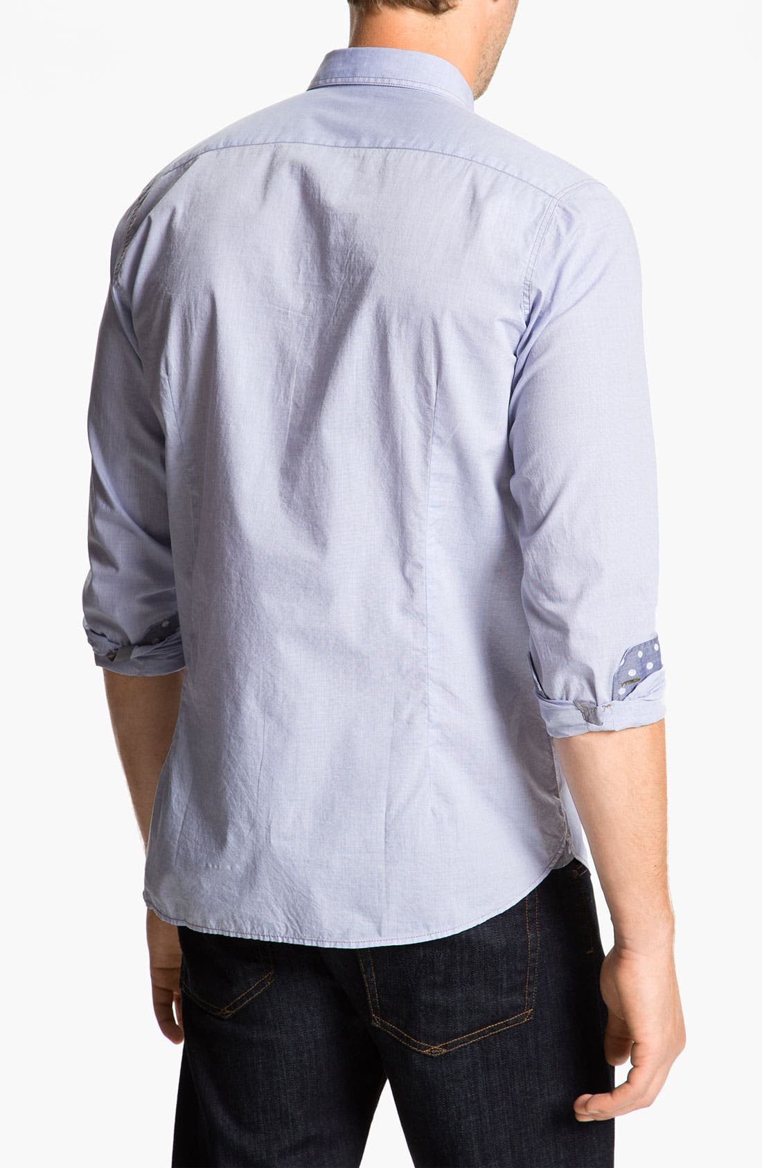 Alternate Image 2  - Ted Baker London 'Pencar' Woven Sport Shirt