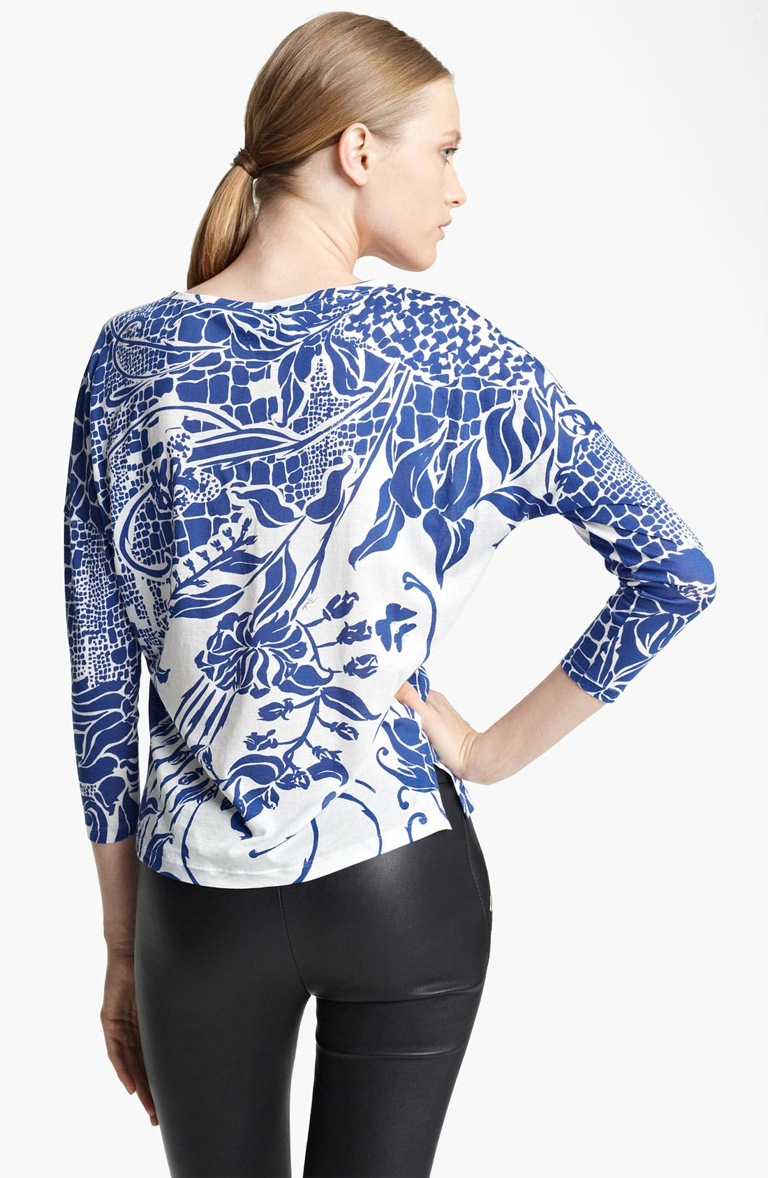 Alternate Image 2  - Emilio Pucci Print Jersey Top