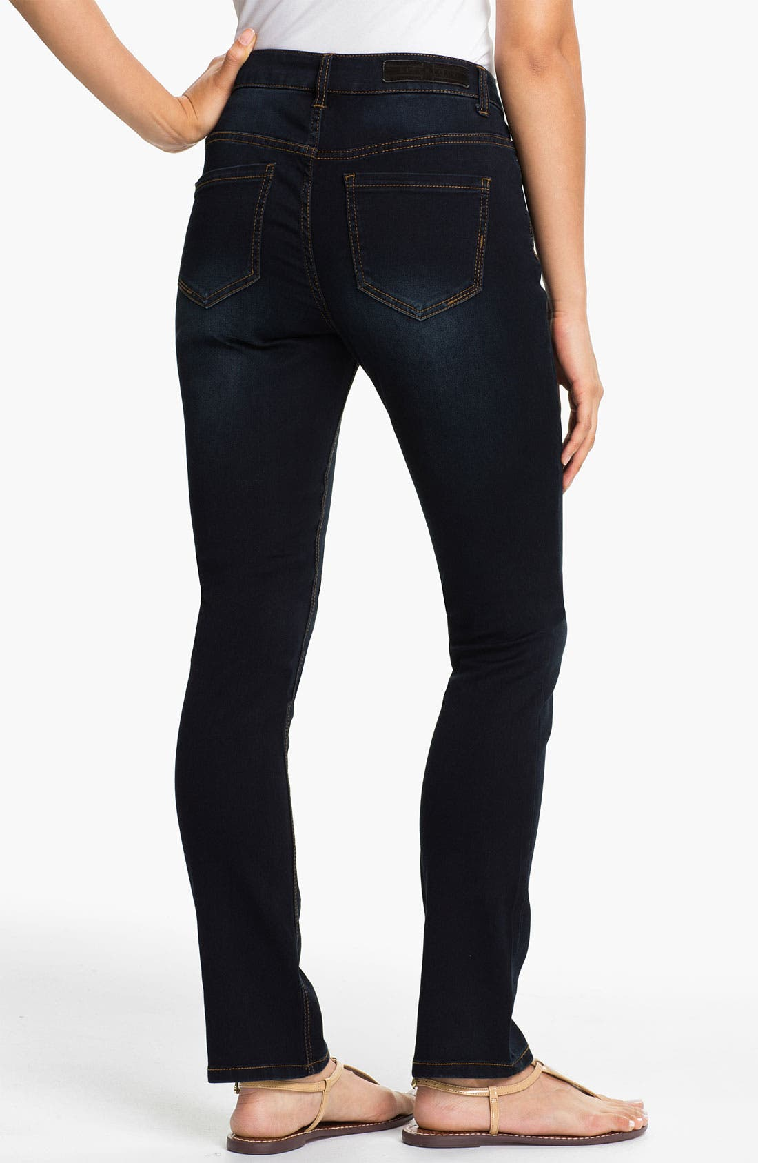 Alternate Image 2  - Liverpool Jeans Company 'Sadie' Straight Leg Supersoft Stretch Jeans