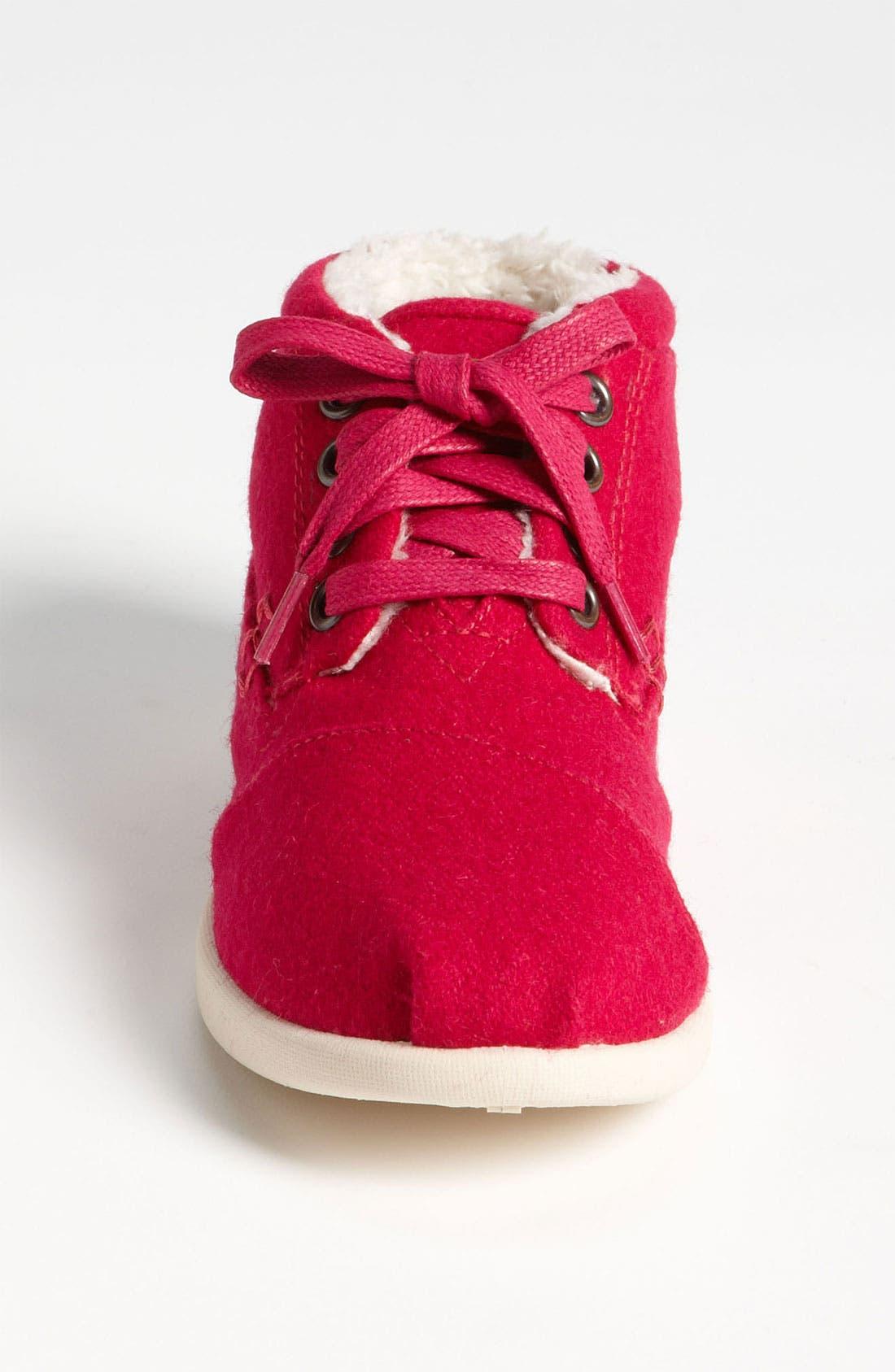 Alternate Image 3  - TOMS 'Botas - Youth' Wool Boot (Toddler, Little Kid & Big Kid)