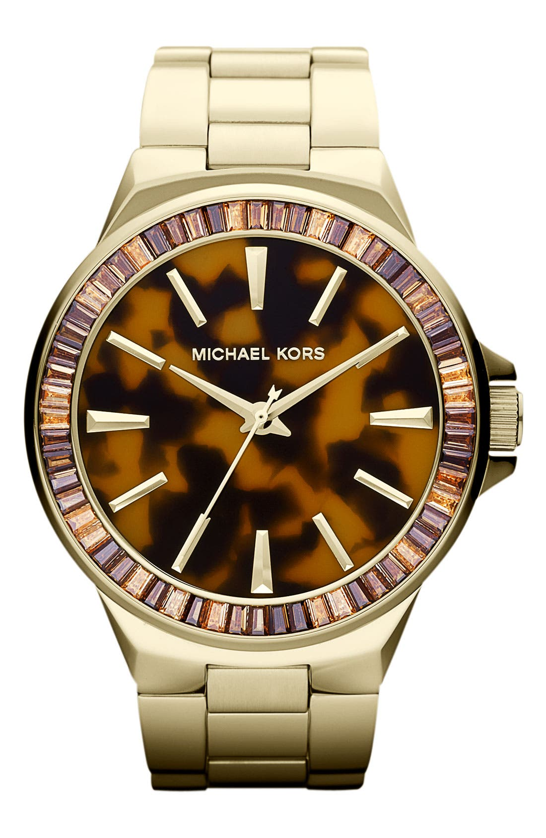 Alternate Image 1 Selected - Michael Kors 'Gramercy' Round Bracelet Watch, 45mm