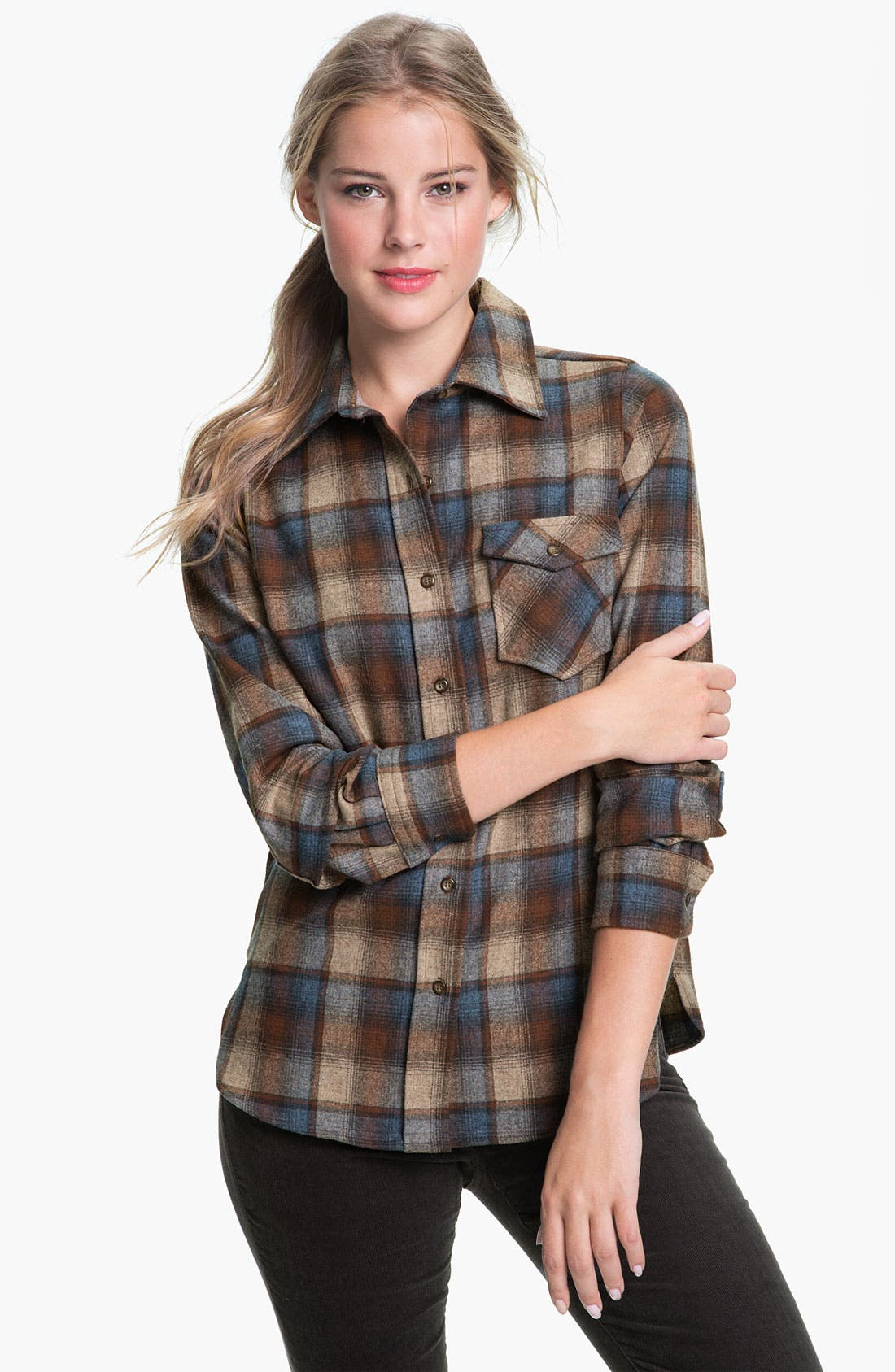 Alternate Image 1 Selected - Pendleton Plaid Shirt (Online Exclusive)