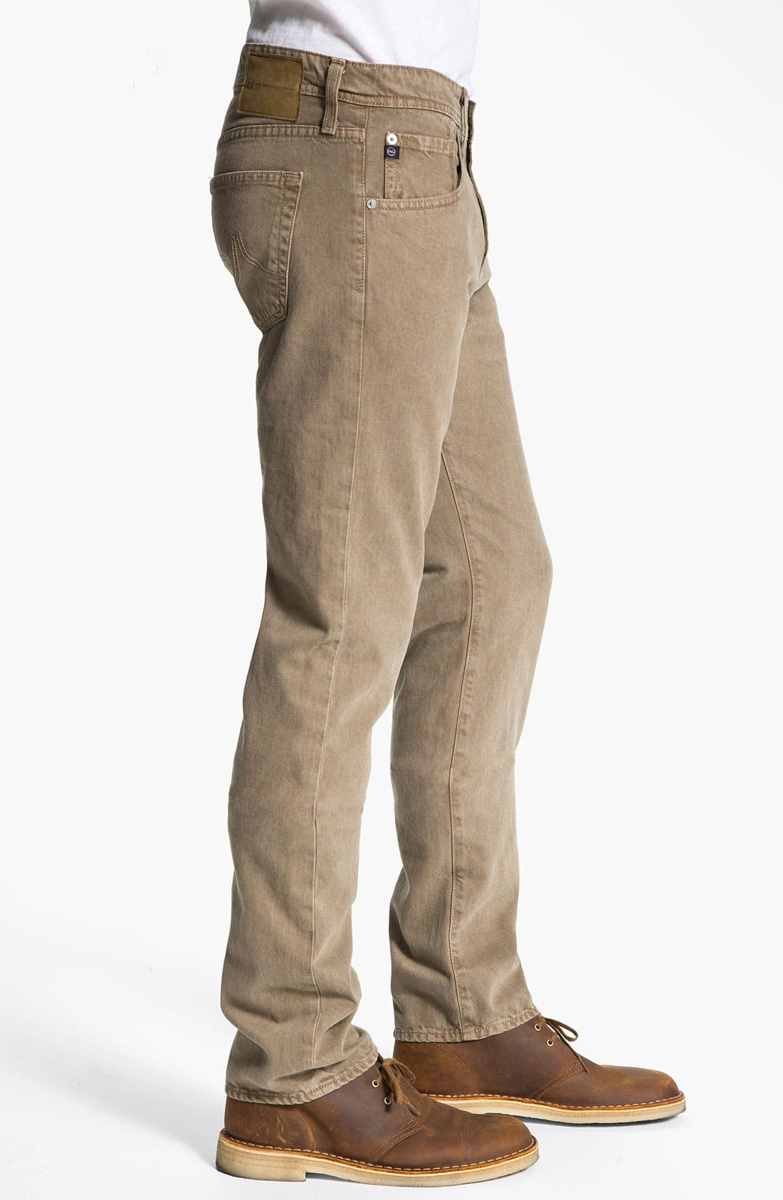 Alternate Image 3  - AG Jeans 'Matchbox' Slim Straight Leg Jeans (Sulfur Beechwood)