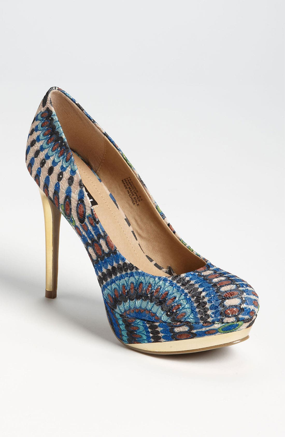 Alternate Image 1 Selected - ZiGi girl 'Peacock' Pump