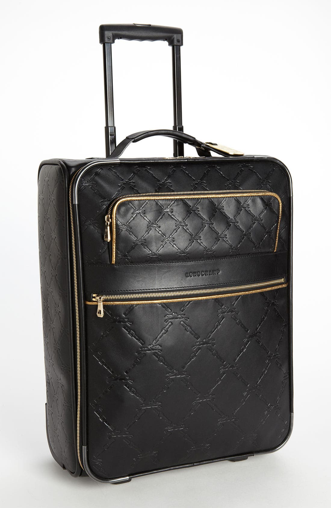 Main Image - Longchamp 'LM Cuir' Wheeled Suitcase