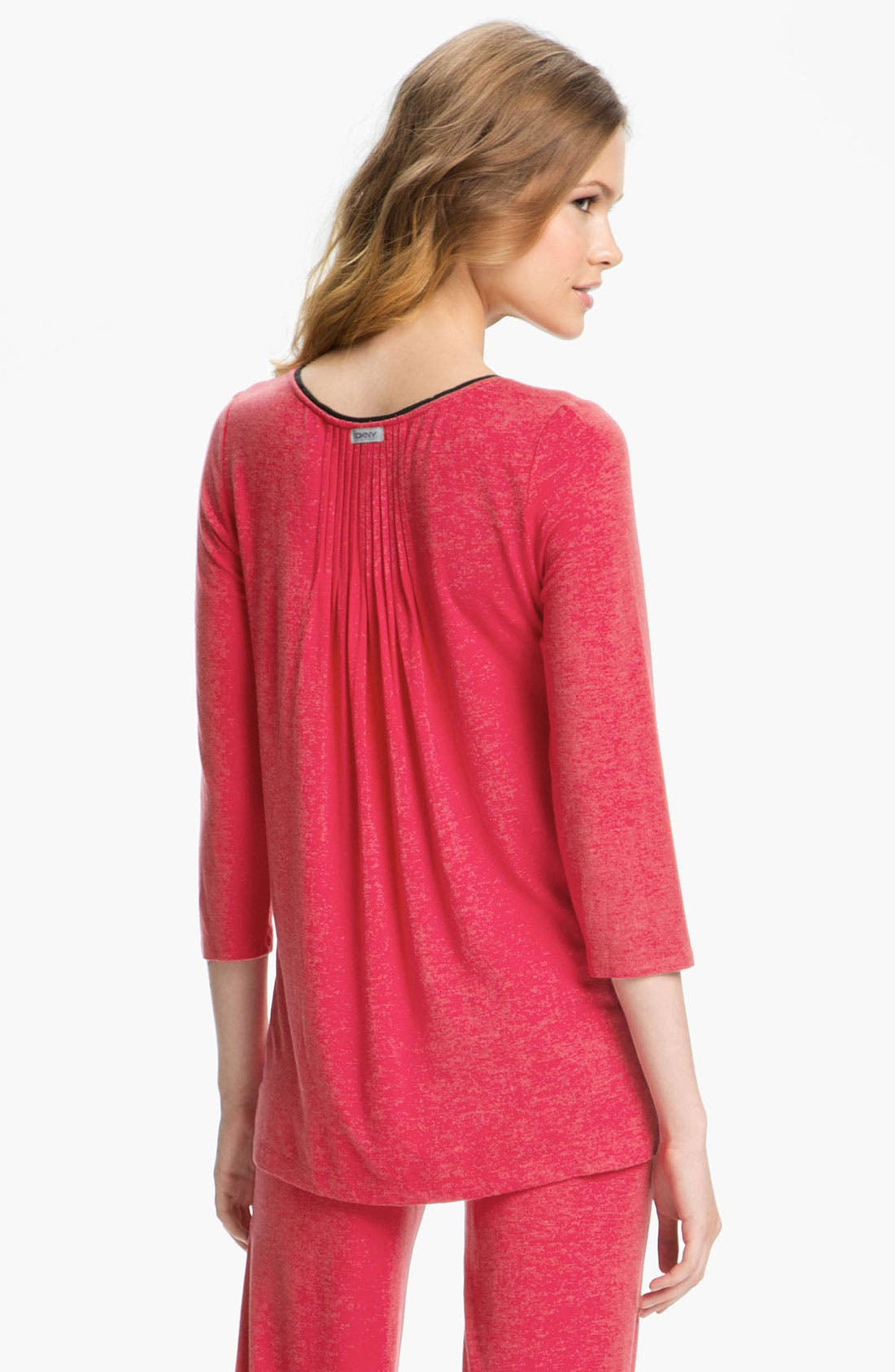 Alternate Image 2  - DKNY '7 Easy Pieces' Pintuck Top