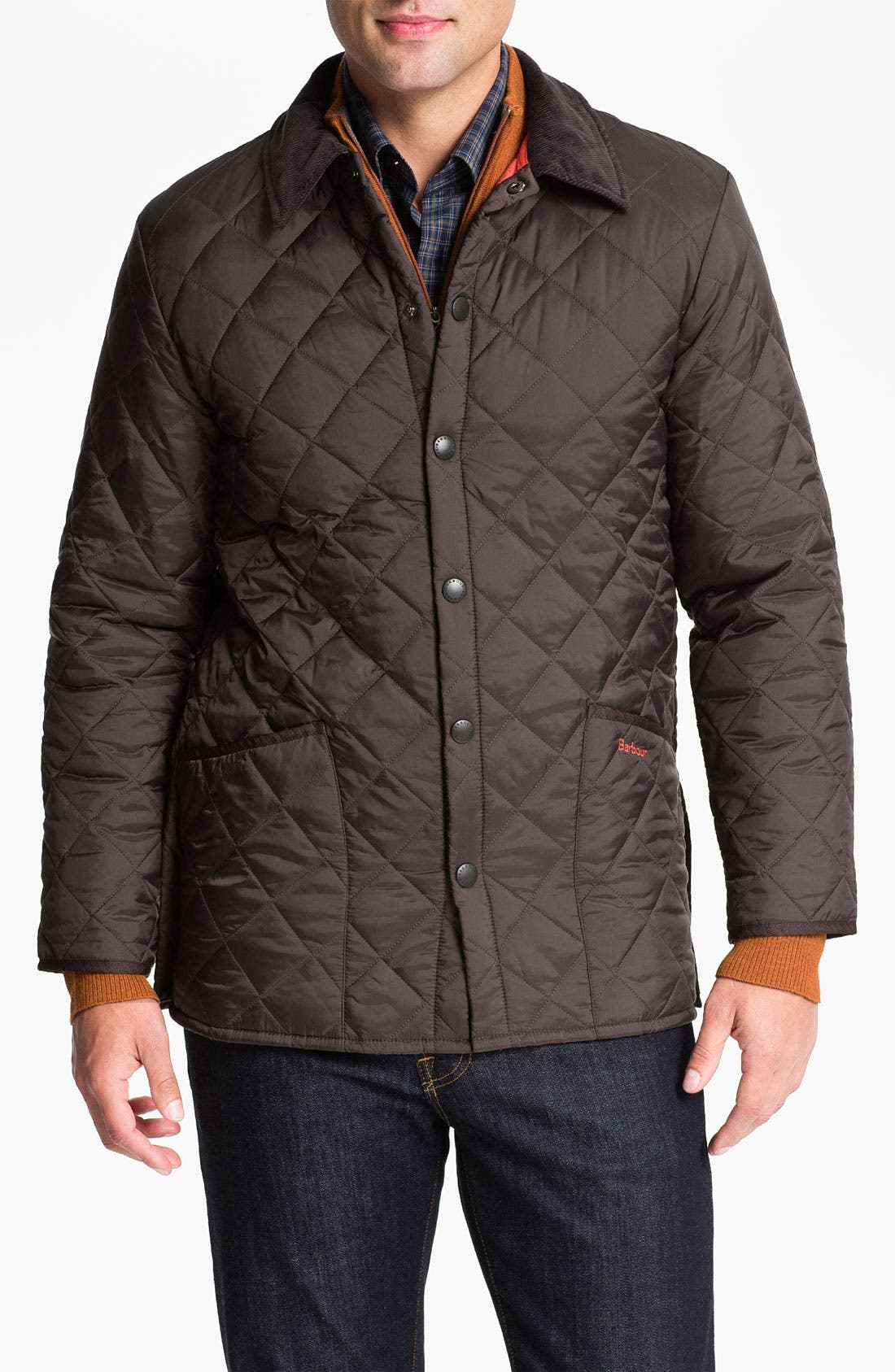 Alternate Image 1 Selected - Barbour 'Liddesdale' Quilted Jacket