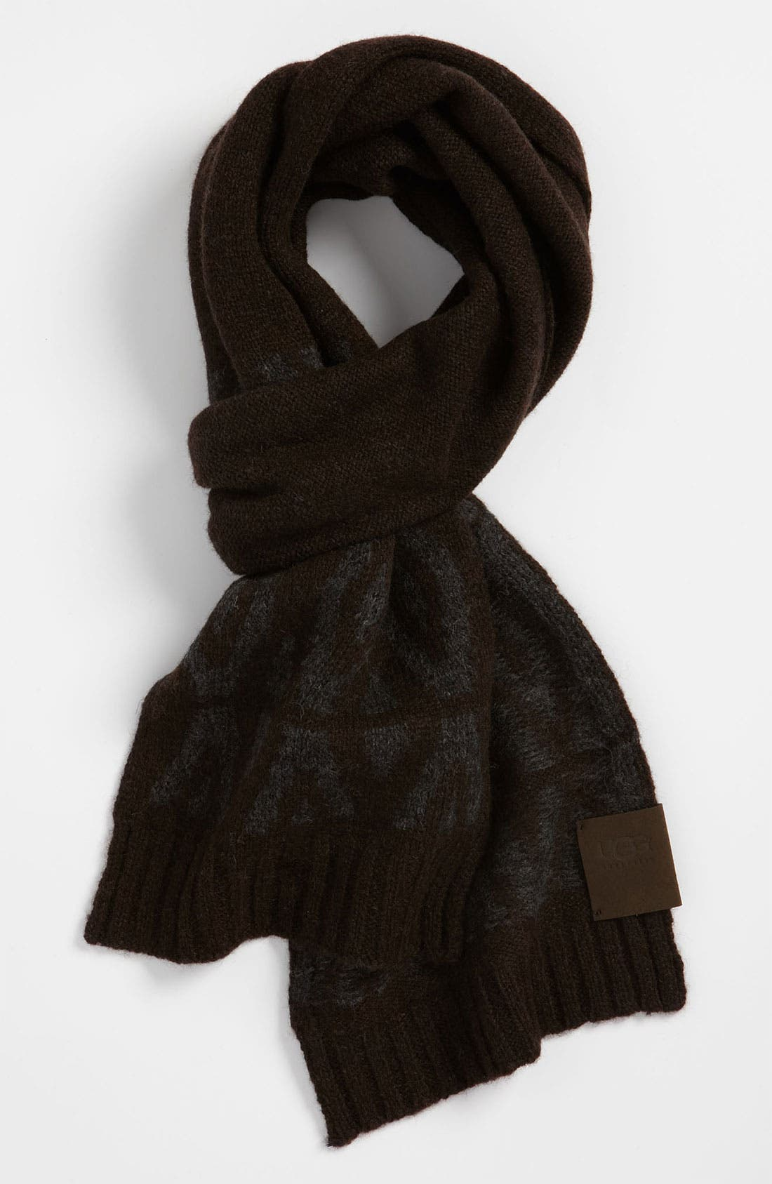 Alternate Image 1 Selected - UGG® Australia Fair Isle Scarf