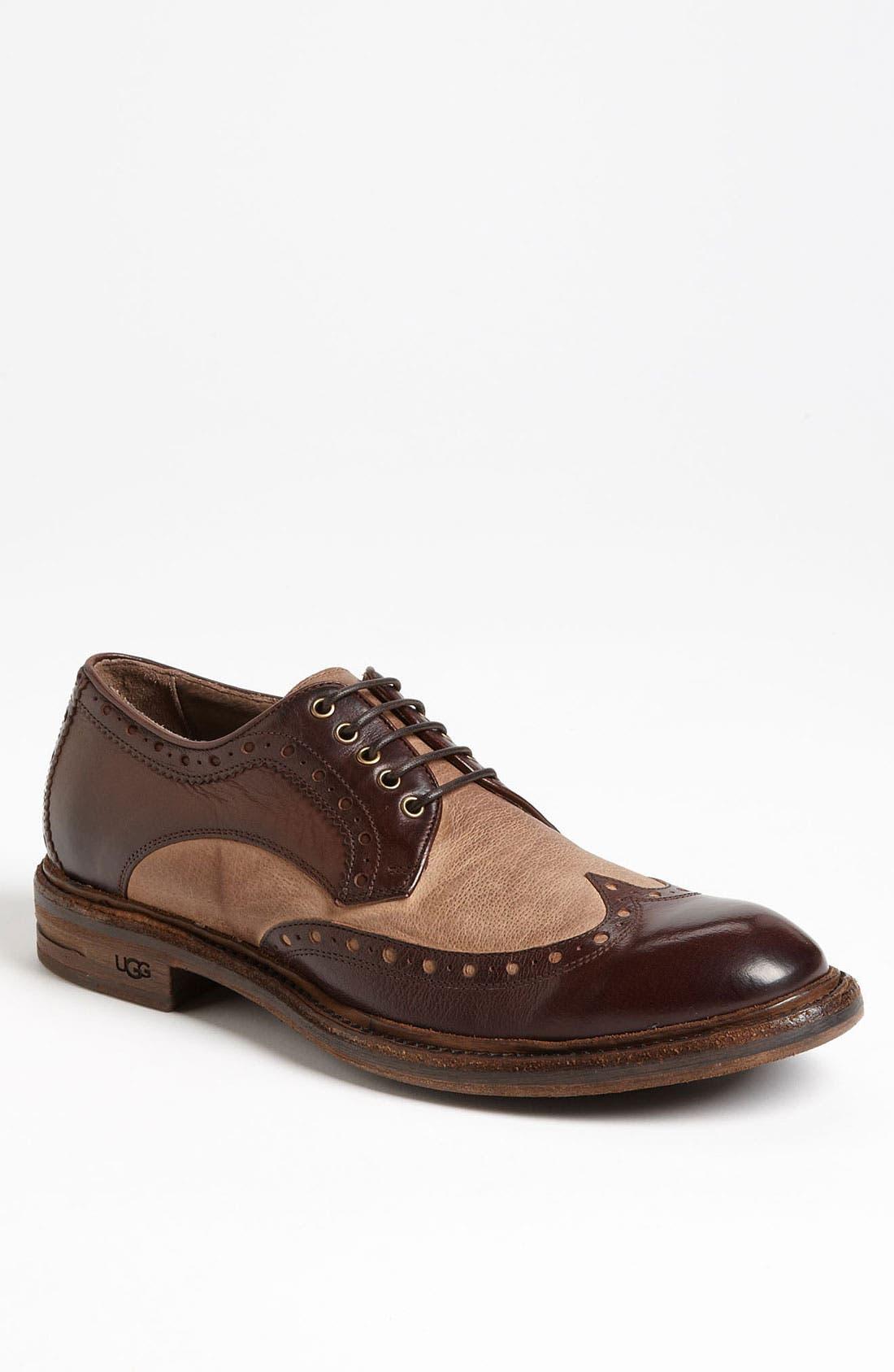 Alternate Image 1 Selected - UGG® Collection 'Allcott' Spectator Shoe (Men)