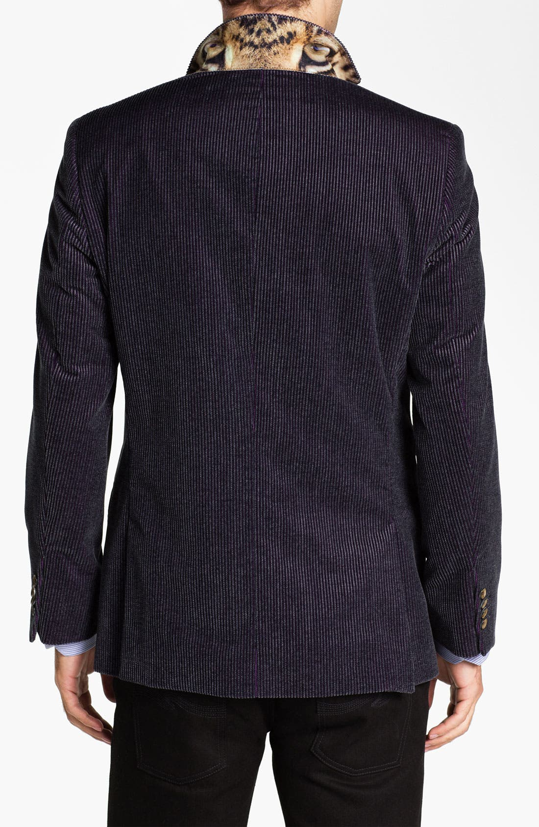 Alternate Image 2  - Ted Baker London 'Global' Trim Fit Corduroy Sportcoat