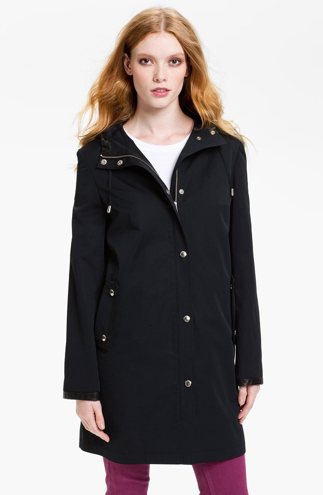 Main Image - MICHAEL Michael Kors Hooded Coat with Detachable Liner