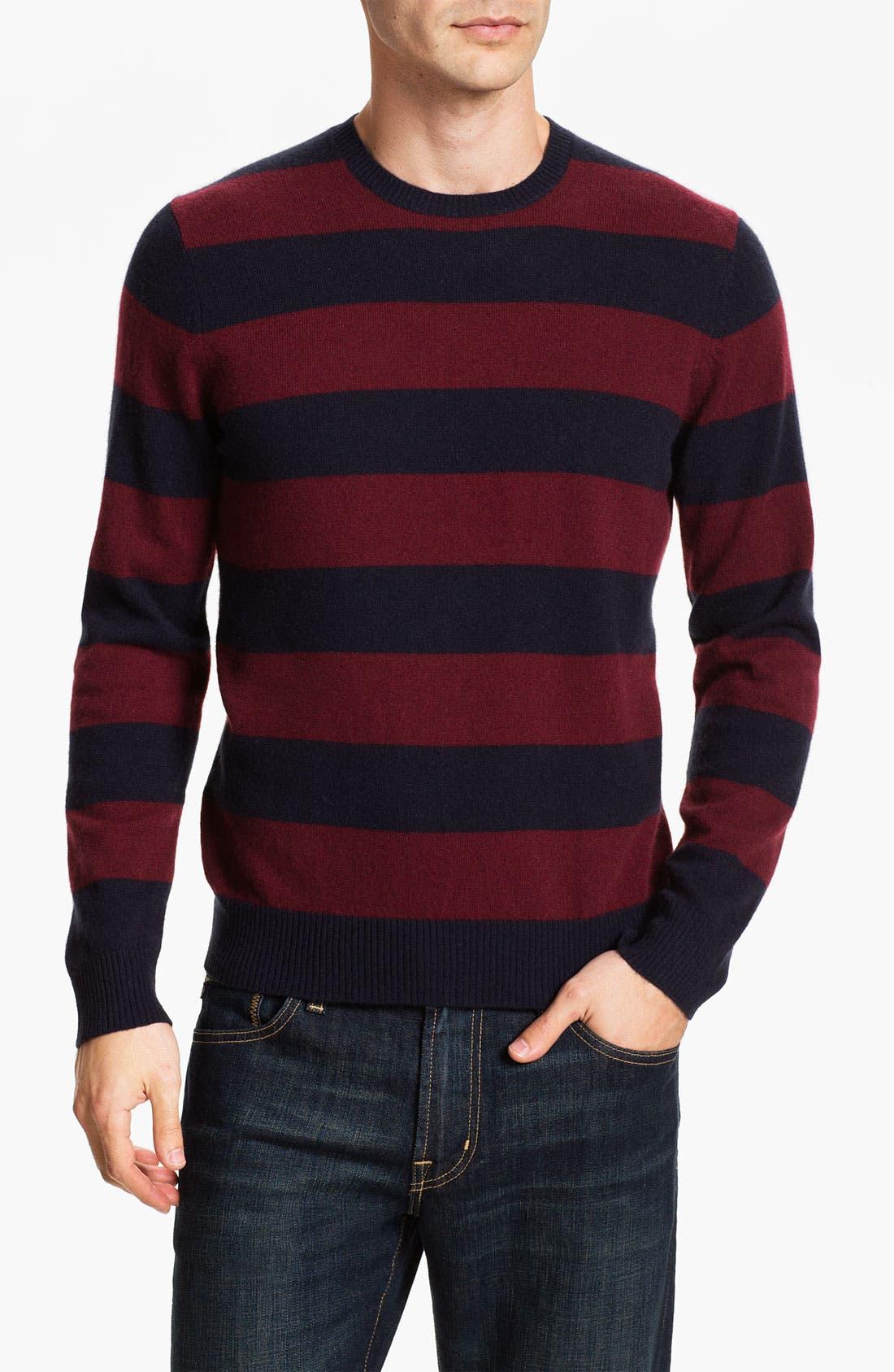 Alternate Image 1 Selected - Cullen89 Cashmere Crewneck Sweater