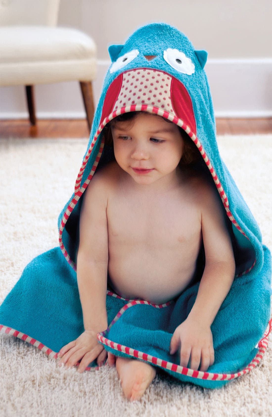 Alternate Image 2  - Skip Hop 'Zoo' Hooded Towel (Baby)