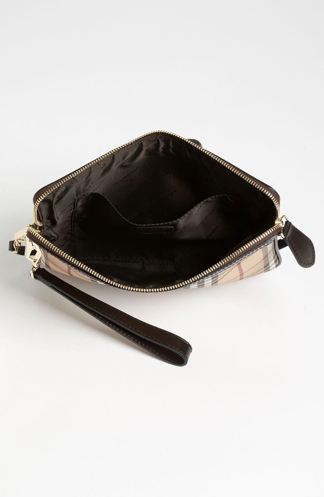 Alternate Image 3  - Burberry 'Haymarket Check' iPad Crossbody Bag
