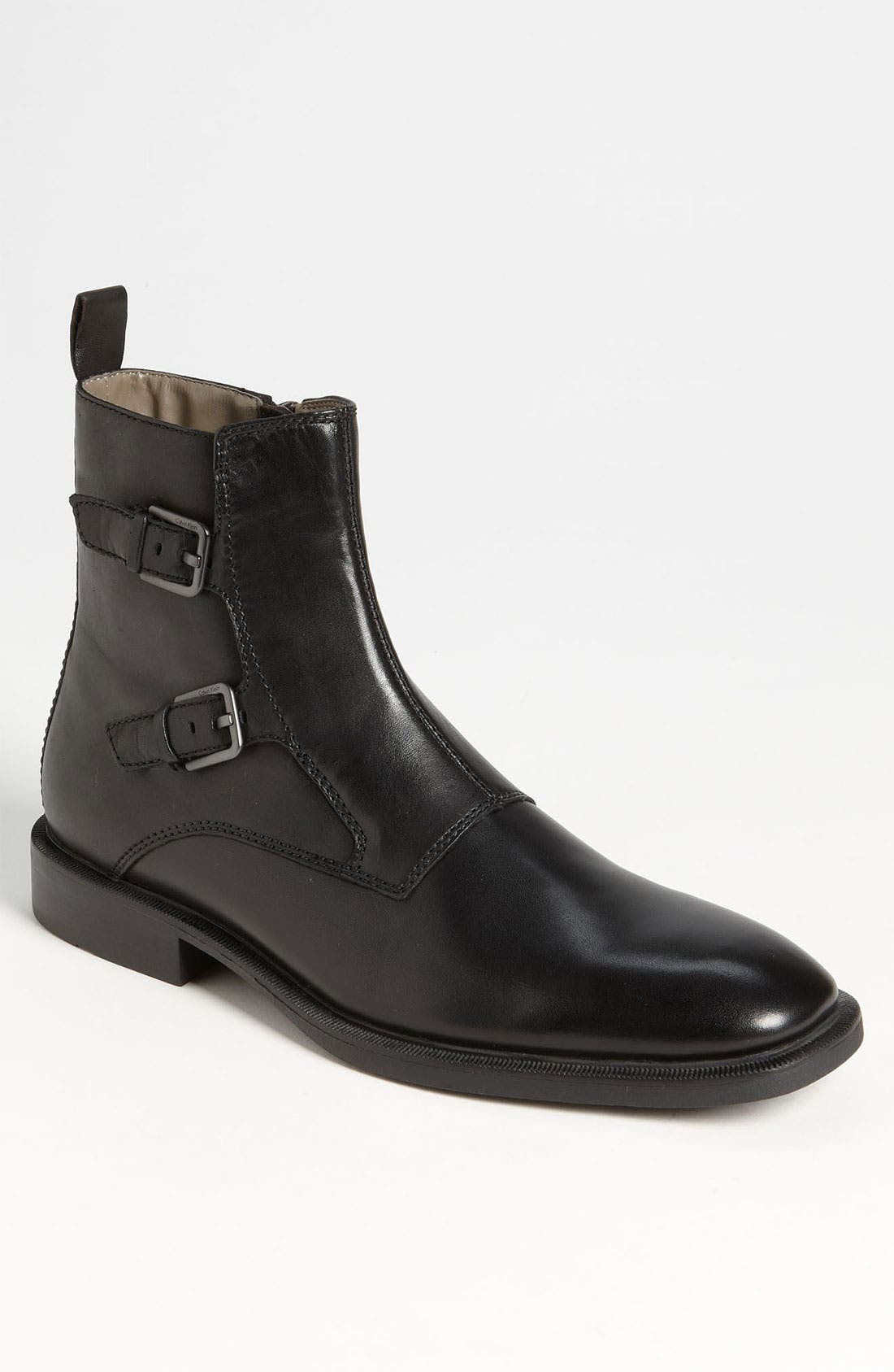 Main Image - Calvin Klein 'Richard' Double Monk Strap Boot (Online Only)