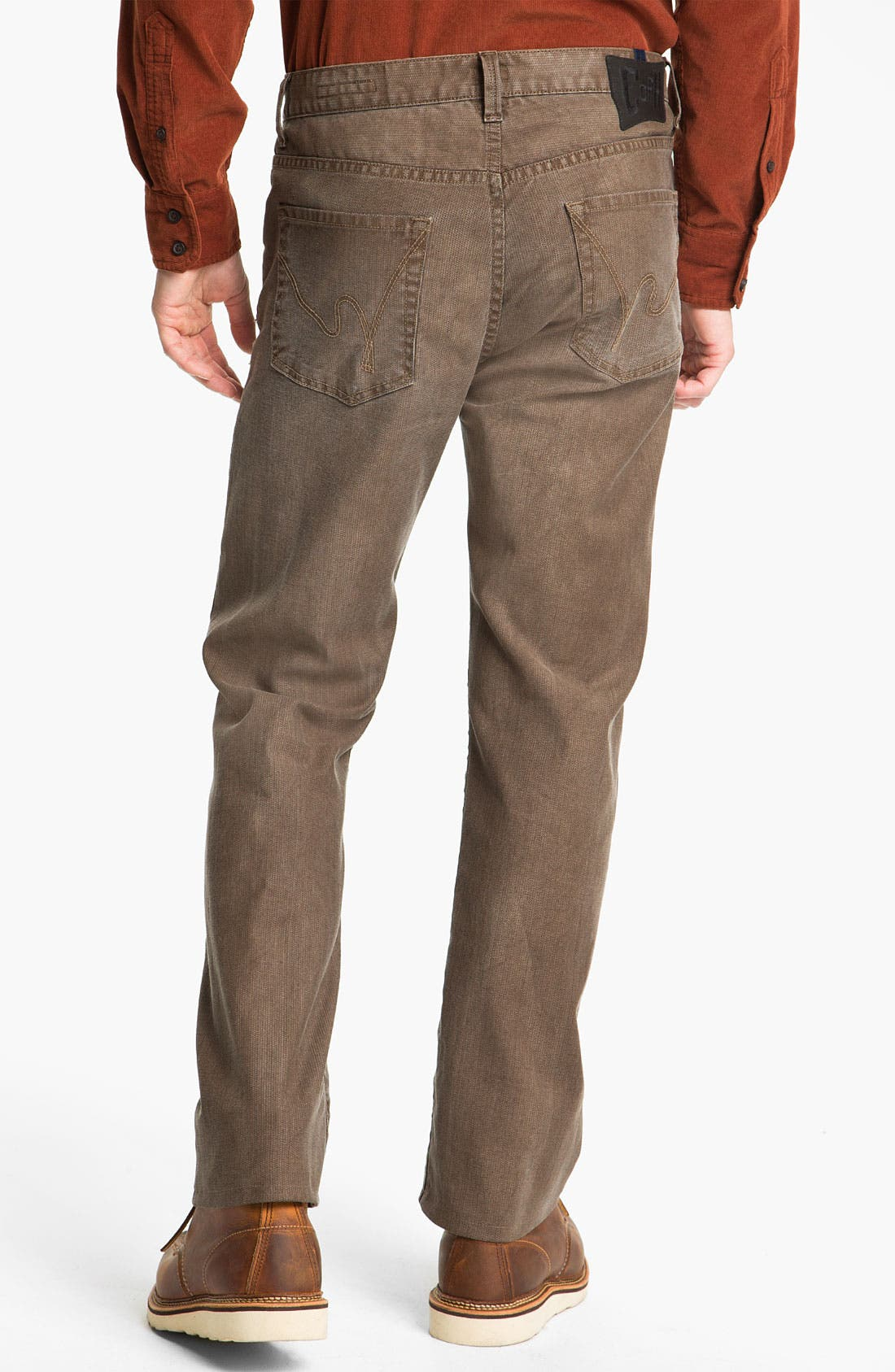 Alternate Image 2  - Citizens of Humanity 'Sid' Straight Leg Pants (Mahogany)