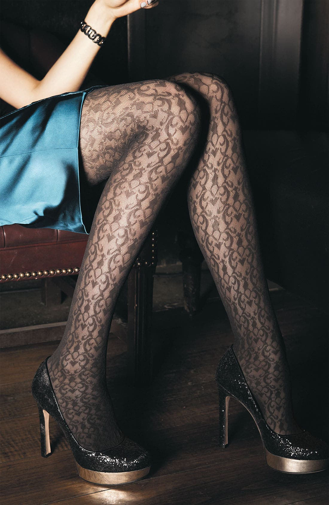 Alternate Image 3  - SPANX® 'Filigree' Tights