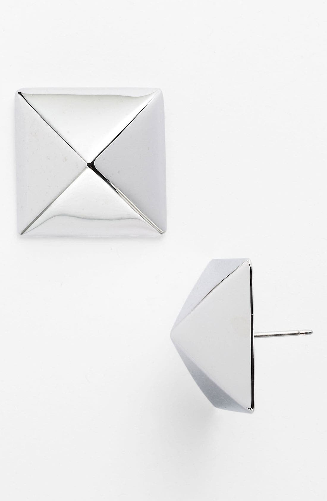 Alternate Image 1 Selected - kate spade new york 'locked in' large stud earrings