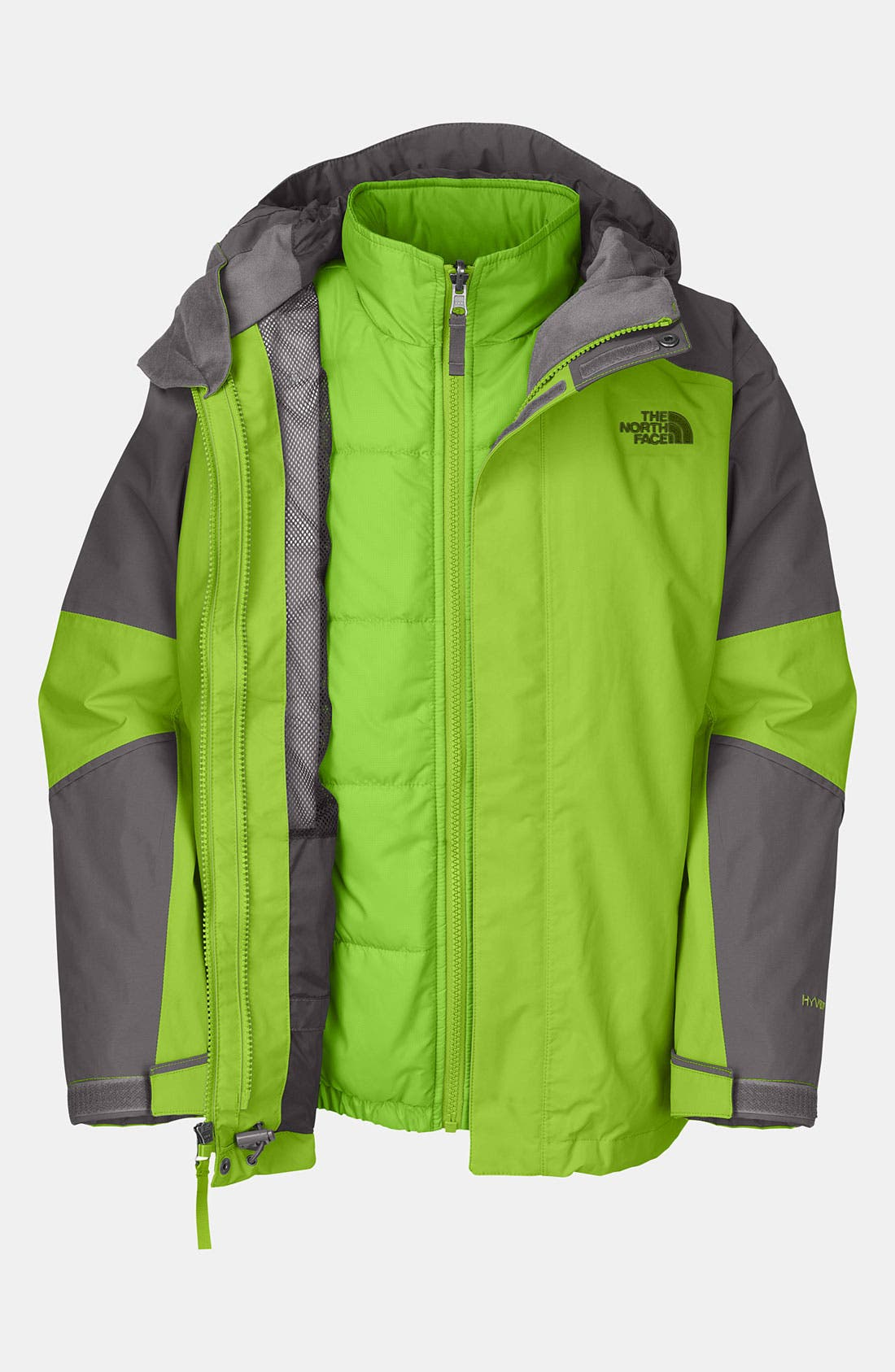Alternate Image 1 Selected - The North Face 'Traece' TriClimate® 3-in-1 Jacket (Big Boys)