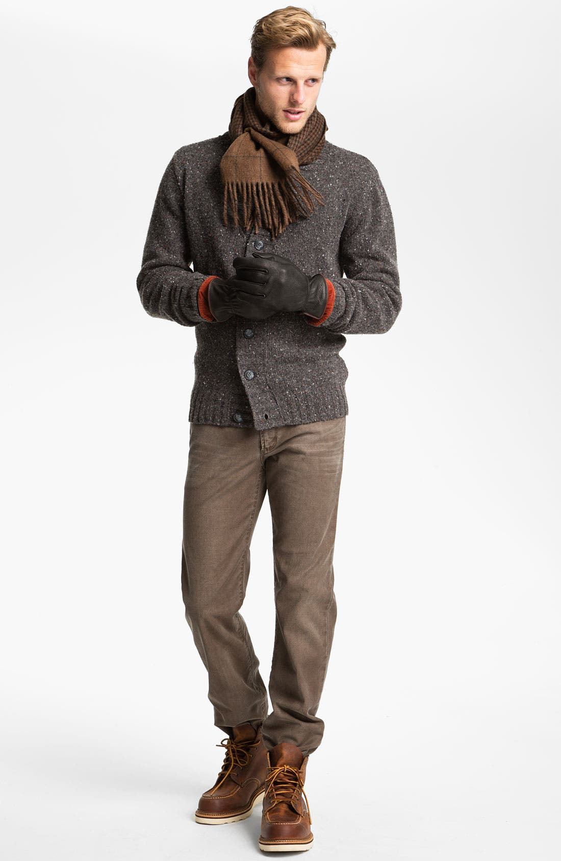 Alternate Image 5  - Fiesole Shawl Collar Wool Blend Cardigan