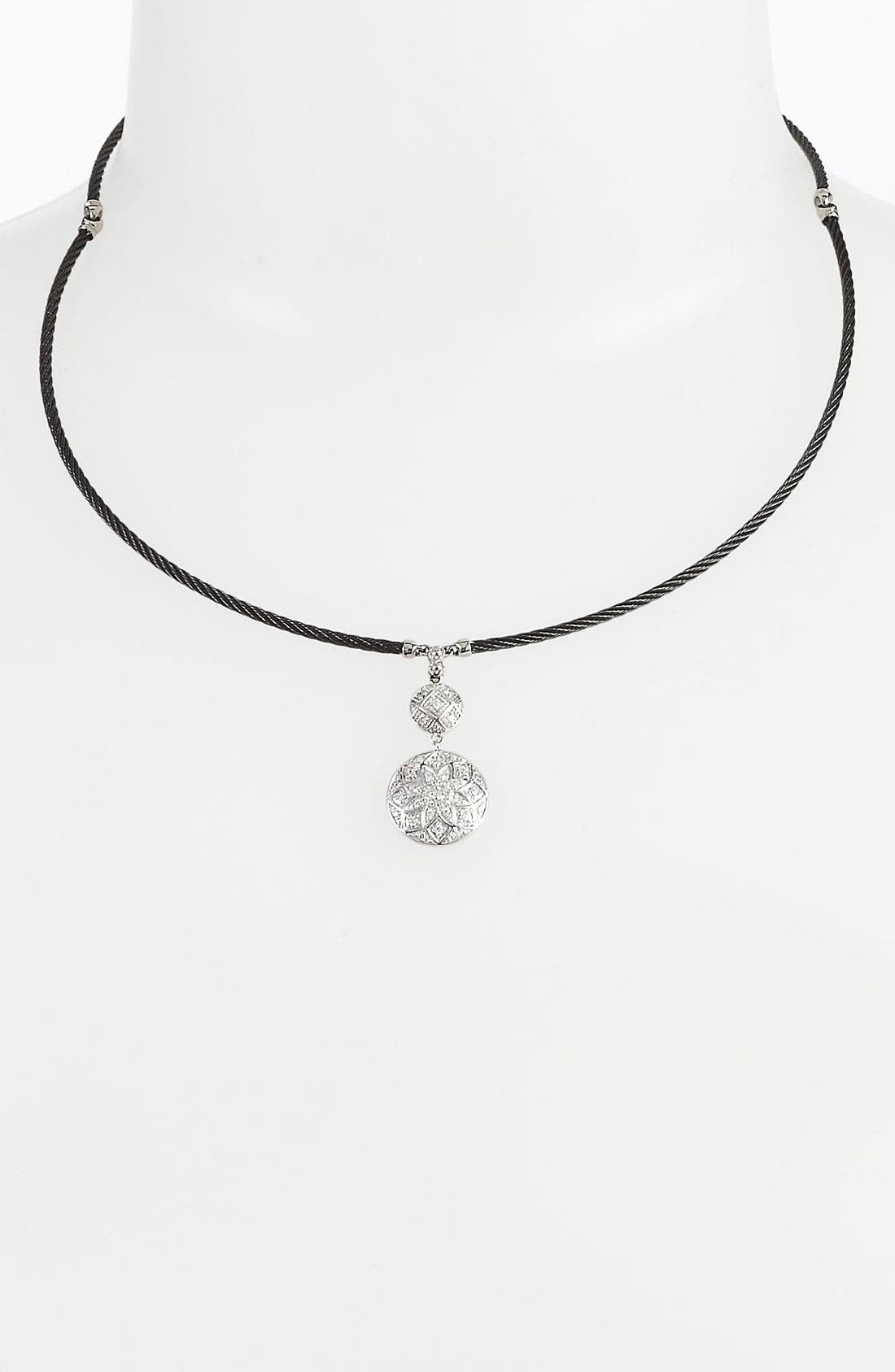Alternate Image 1 Selected - ALOR® Double Drop Pendant Necklace