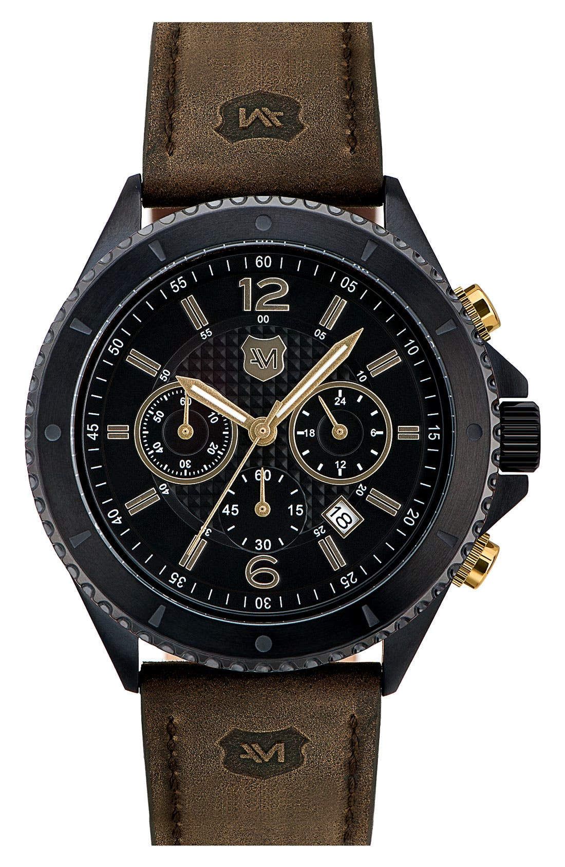 Alternate Image 1 Selected - Andrew Marc Watches 'Club Cadet' Chronograph Watch