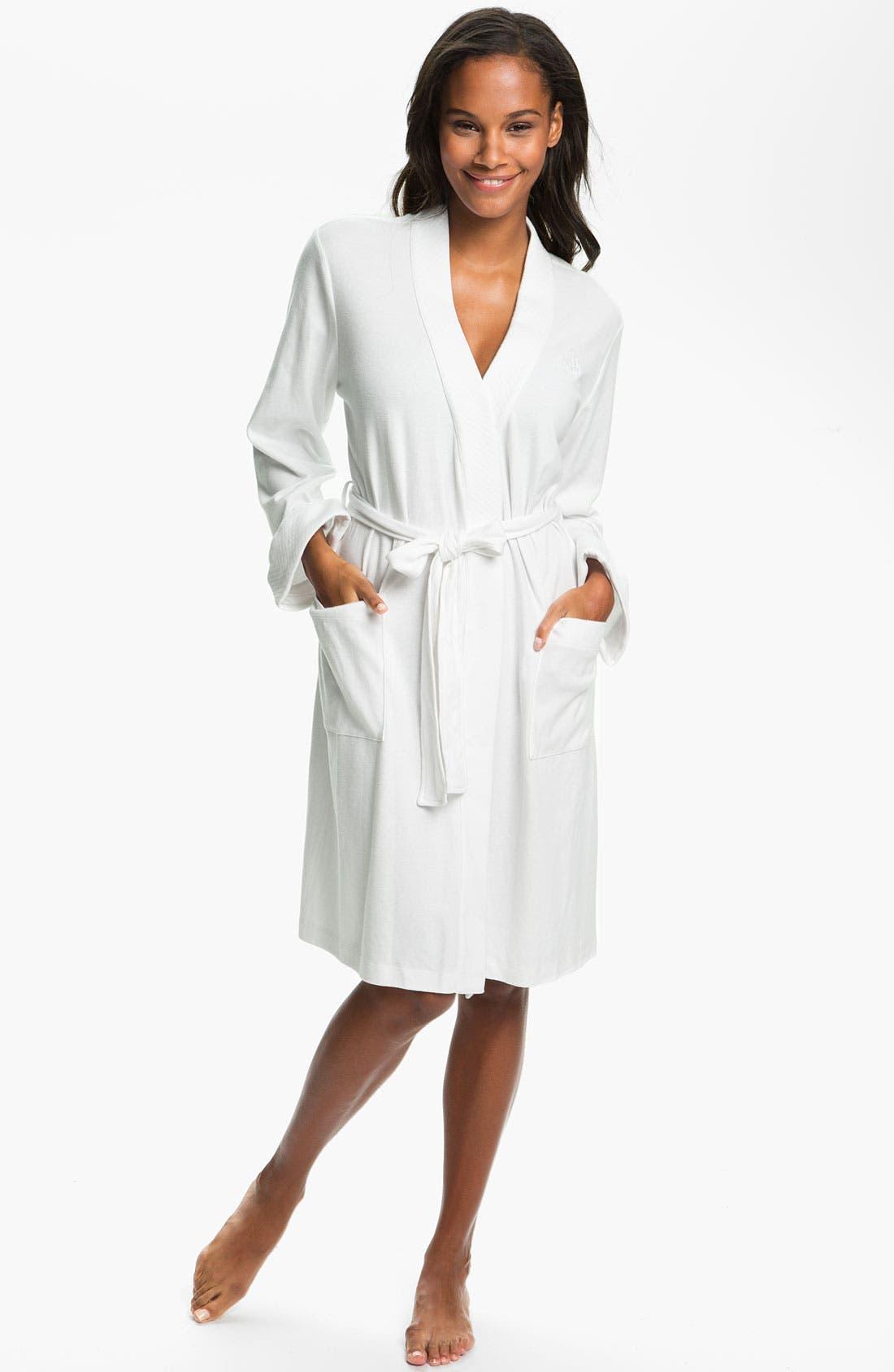 Lauren Ralph Lauren Quilted Collar Robe (Online Only)