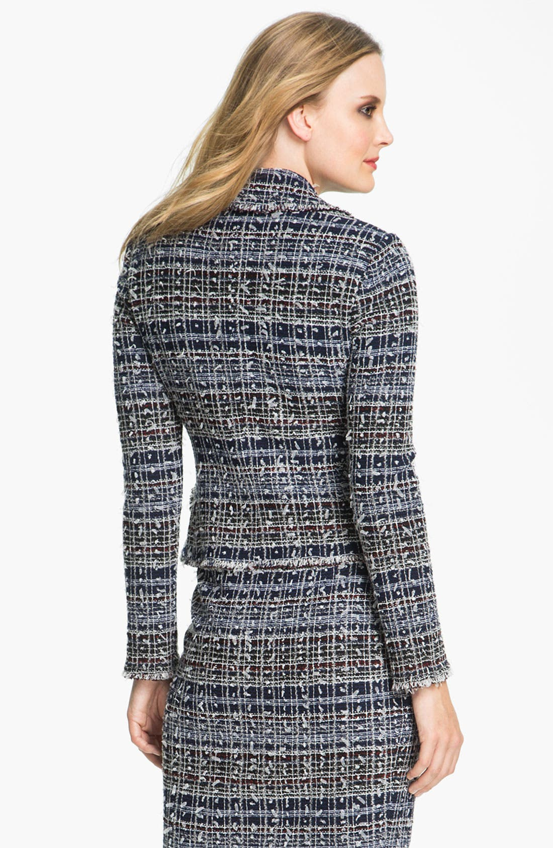 Alternate Image 3  - St. John Collection 'Sutton' Tweed Knit Jacket