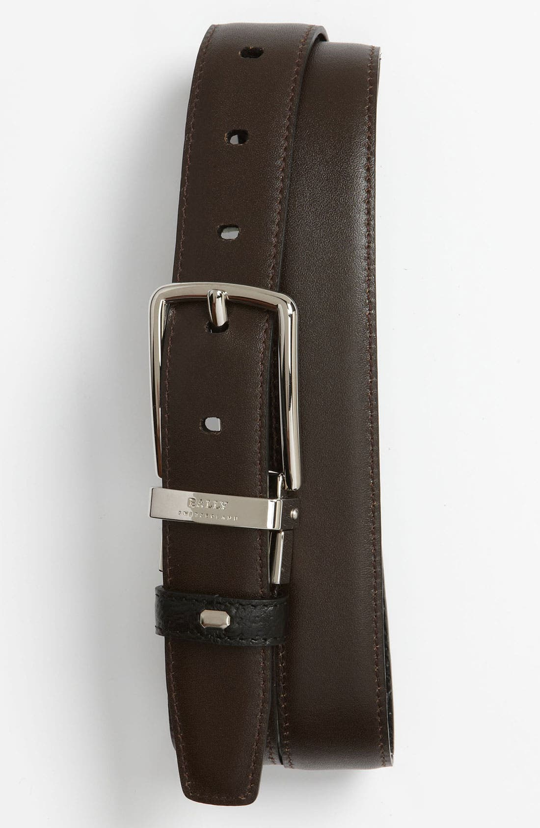 Alternate Image 2  - Bally Reversible Calfskin Belt