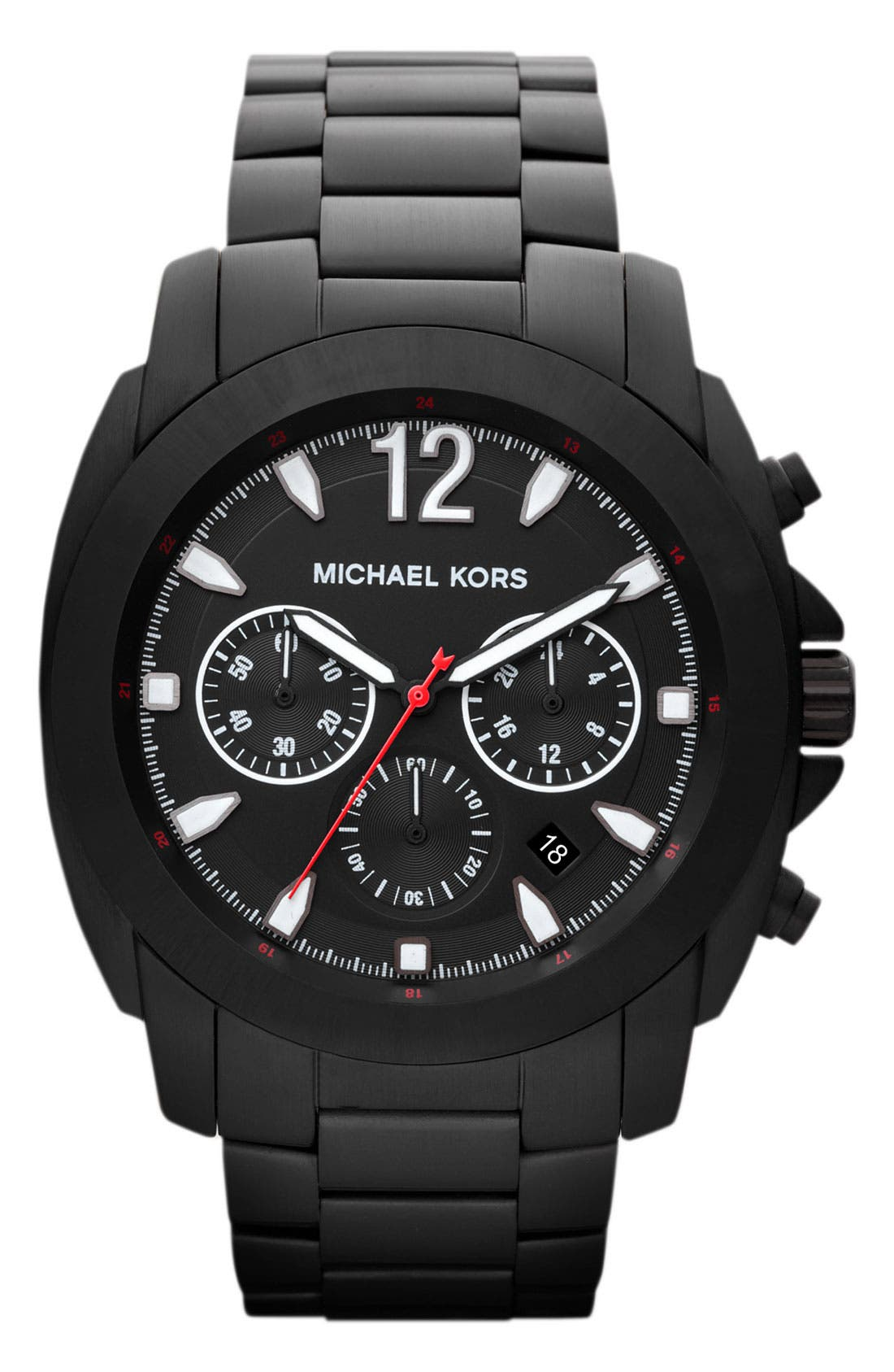 Alternate Image 1 Selected - Michael Kors 'Cameron' Chronograph Bracelet Watch, 47mm