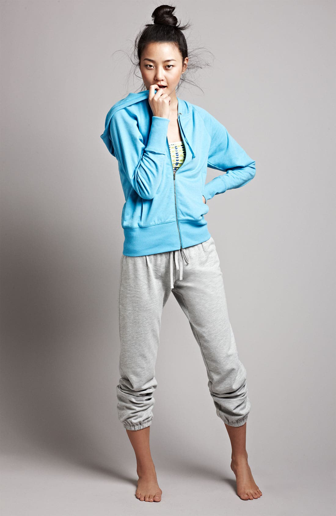 Alternate Image 1 Selected - Make + Model Hoodie & Pants