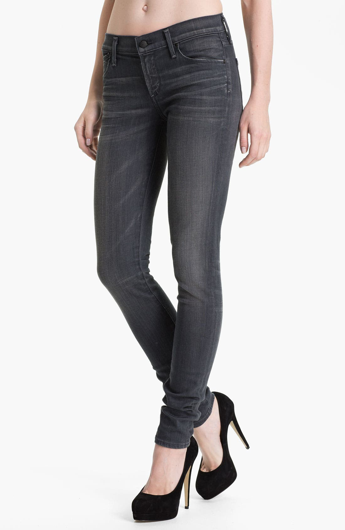 Alternate Image 1 Selected - Citizens of Humanity Skinny Stretch Denim Jeans (Flint)