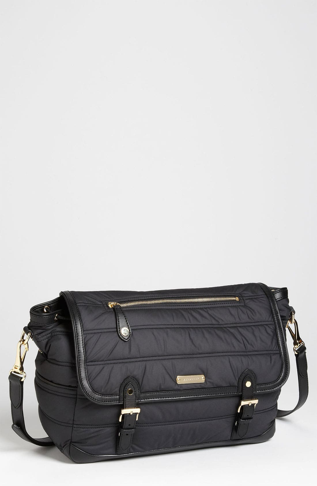 Alternate Image 1 Selected - Burberry Quilted Diaper Bag