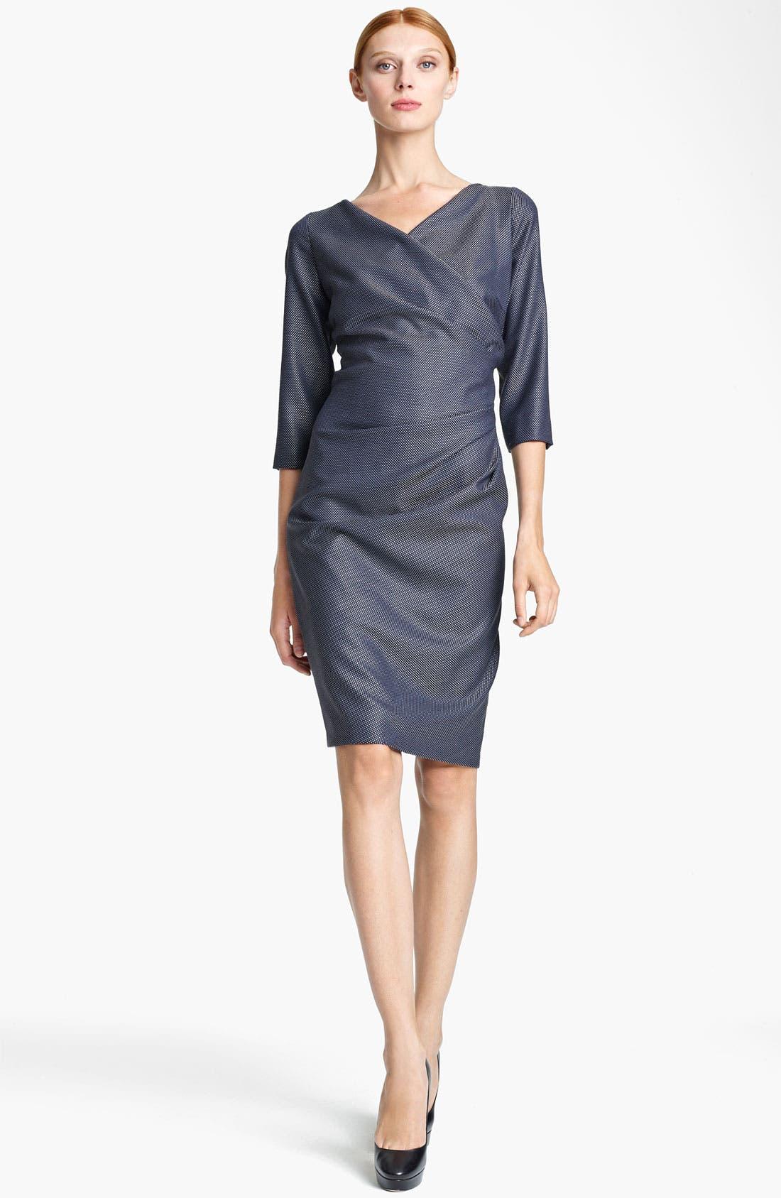 Main Image - Max Mara 'Acino' Pin Dot Dress